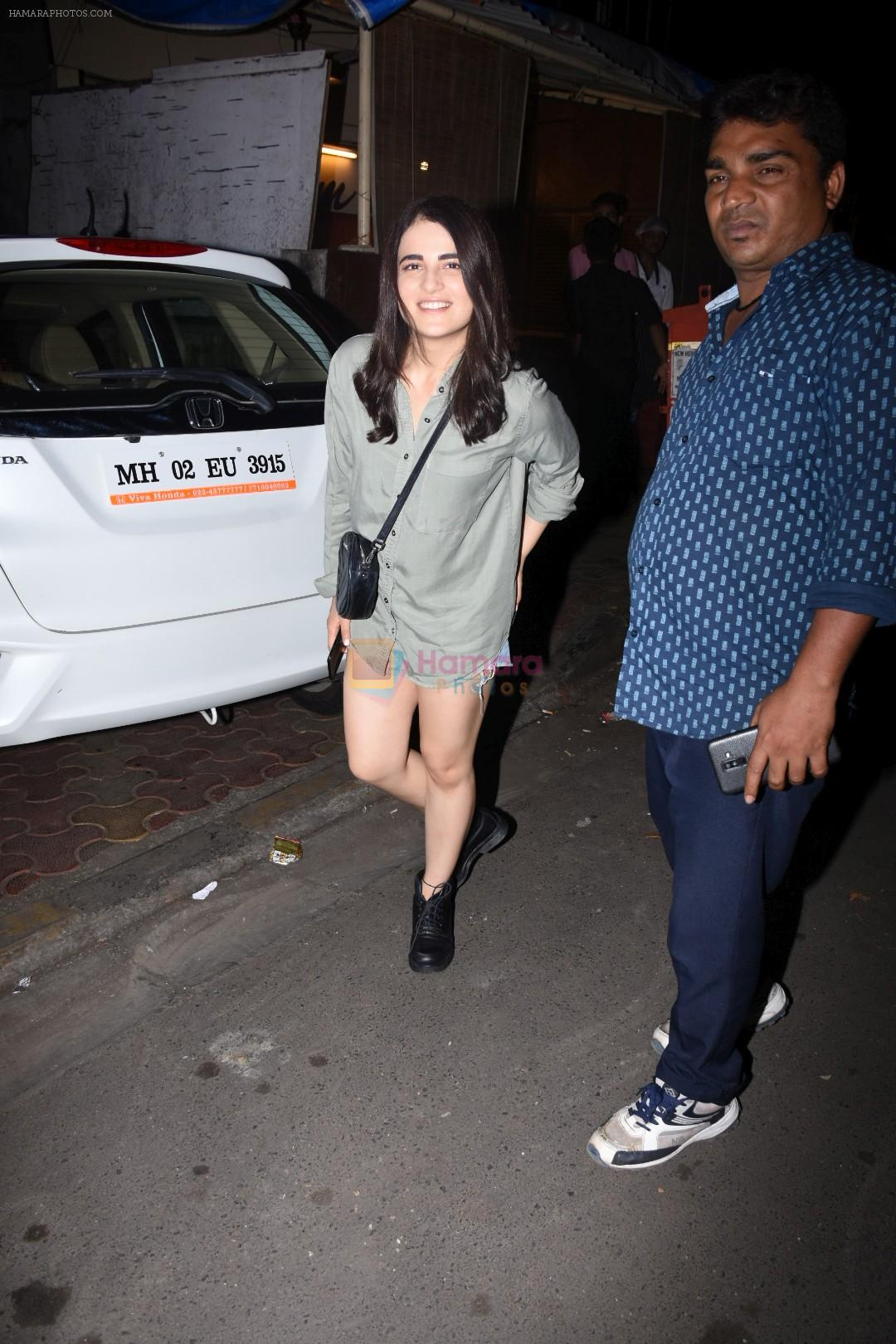Radhika Madan spotted at farmer's cafe bandra on 19th Aug 2019
