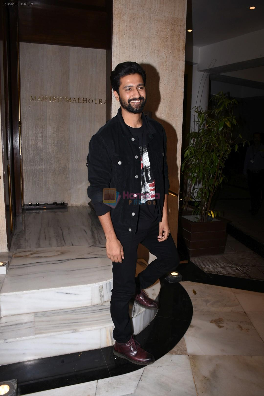 Vicky Kaushal at Manish Malhotra's party at his home in bandra on 20th Aug 2019