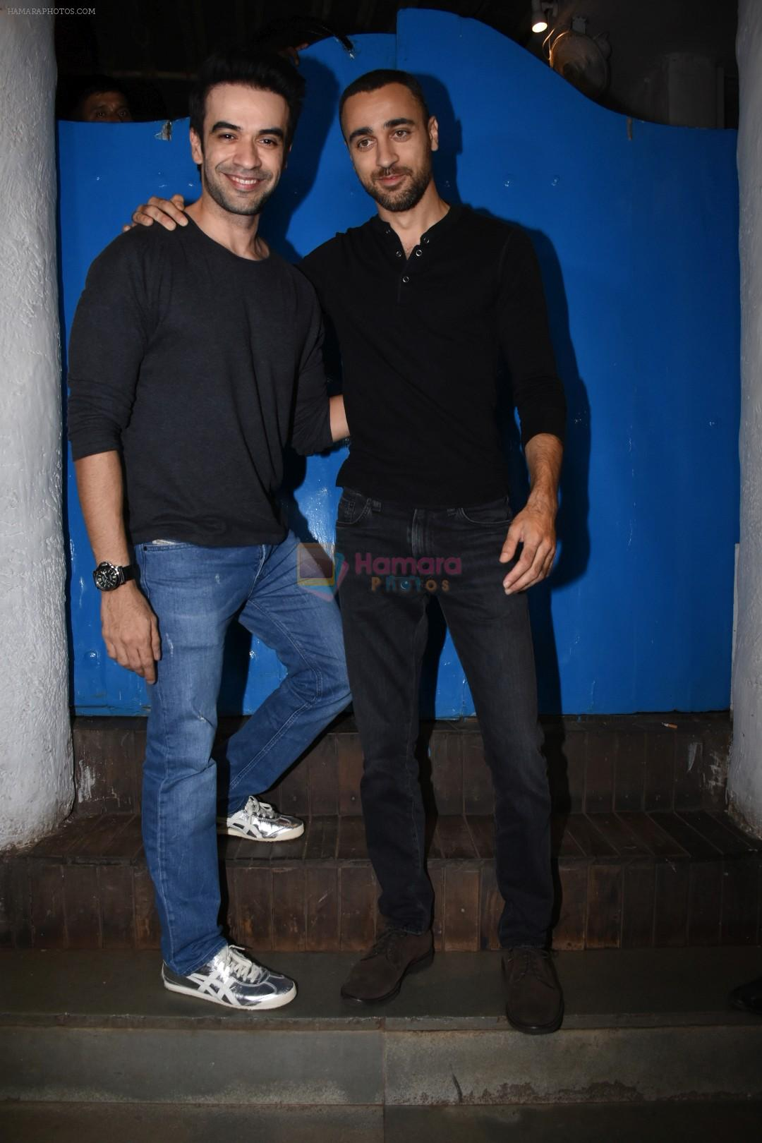 Imran Khan, Punit Malhotra at Nikhil Advani's party at olive bandra on 21st Aug 2019