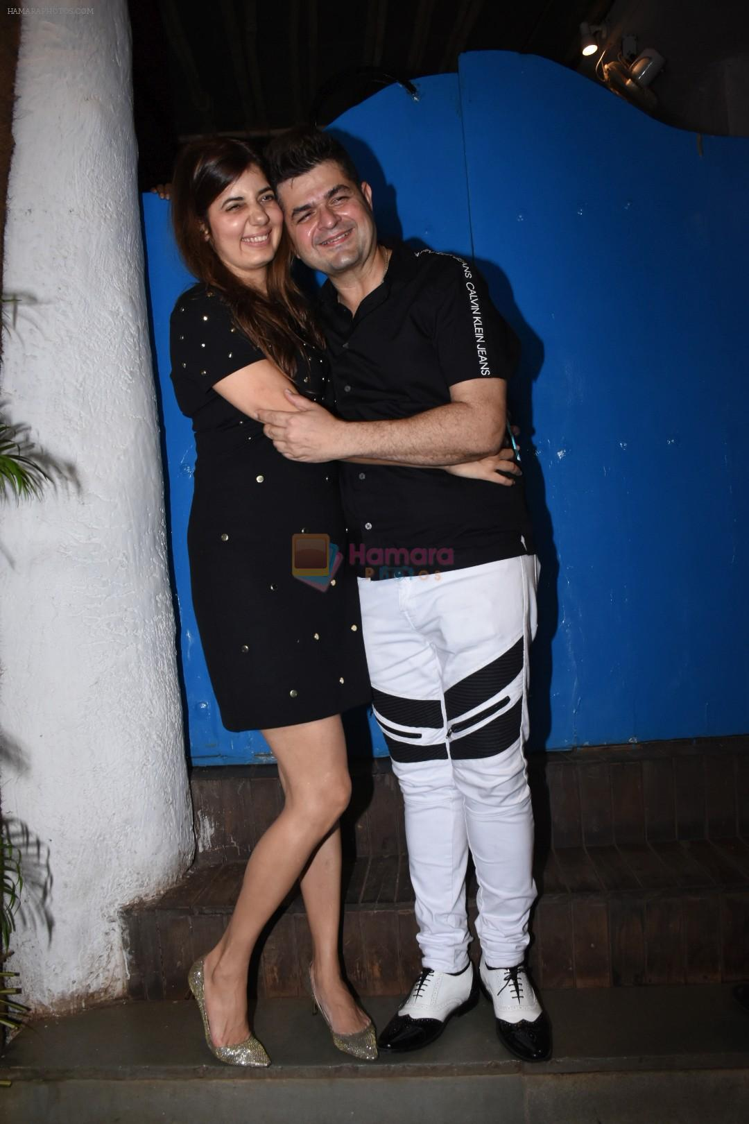 Dabboo Ratnani at Nikhil Advani's party at olive bandra on 21st Aug 2019