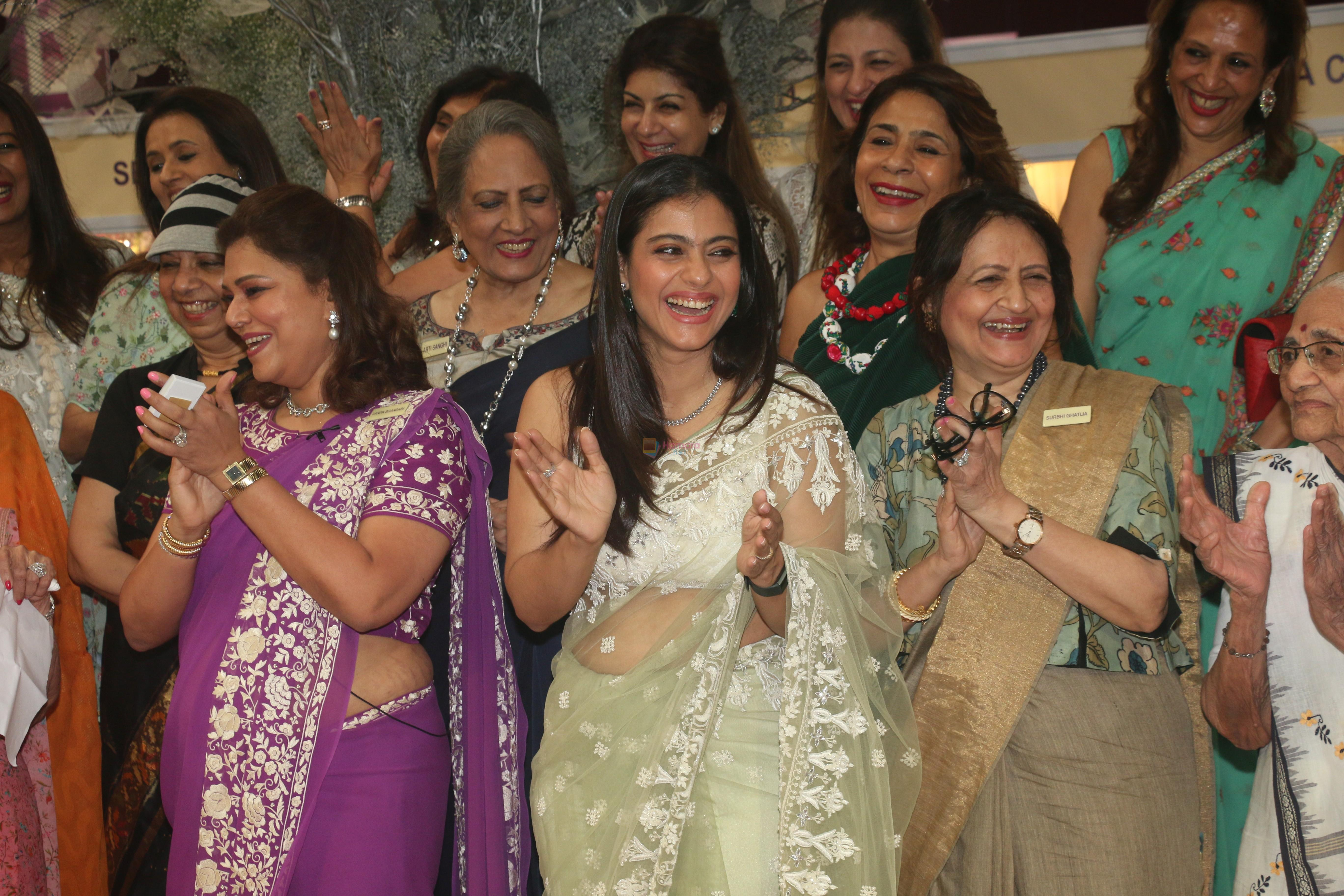 Kajol Inaugurates the Imc ladies wing exhibition at NSCI worl on 21st Aug 2019