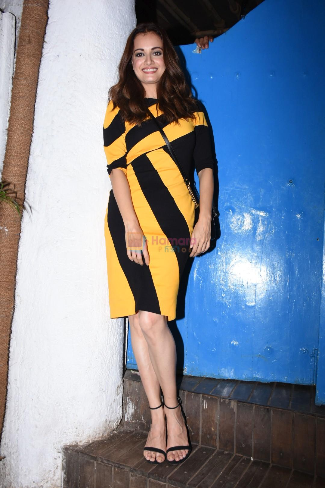 Dia Mirza at Nikhil Advani's party at olive bandra on 21st Aug 2019