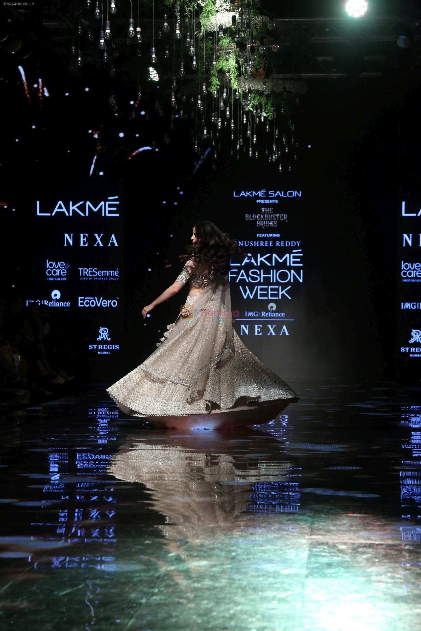Ananya Pandey walks for Anushree Reddy at LFW 2019 on 24th Aug 2019