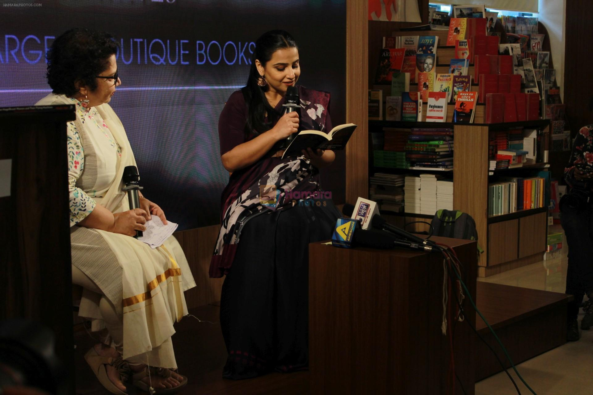 Vidya Balan at the Launch Of Minnie Vaid Book Those Magnificent Women And Their Flying Machines in Title Waves, Bandra on 27th Aug 2019