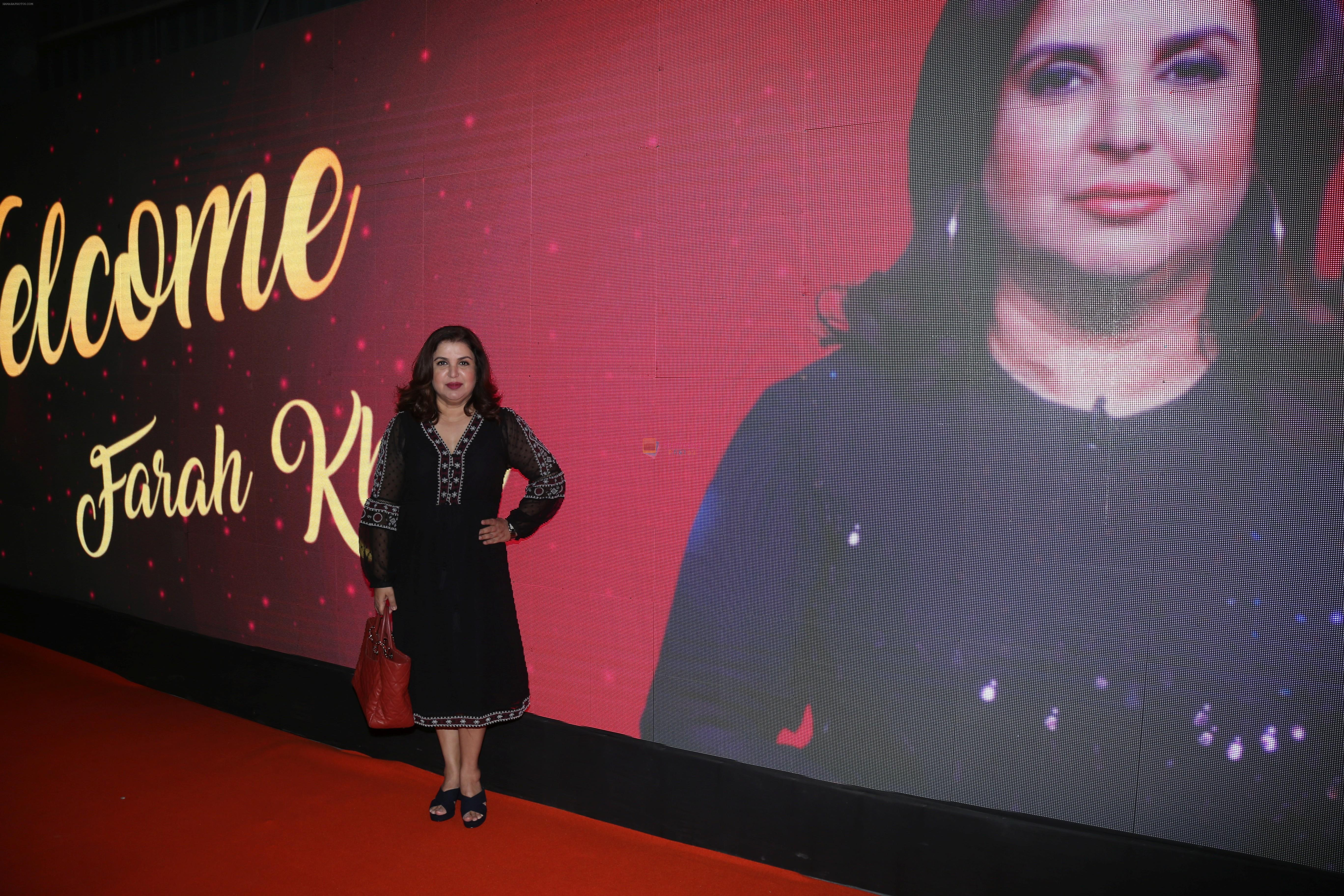 Farah Khan at the Big Cine Expo in goregaon on 26th AUg 2019