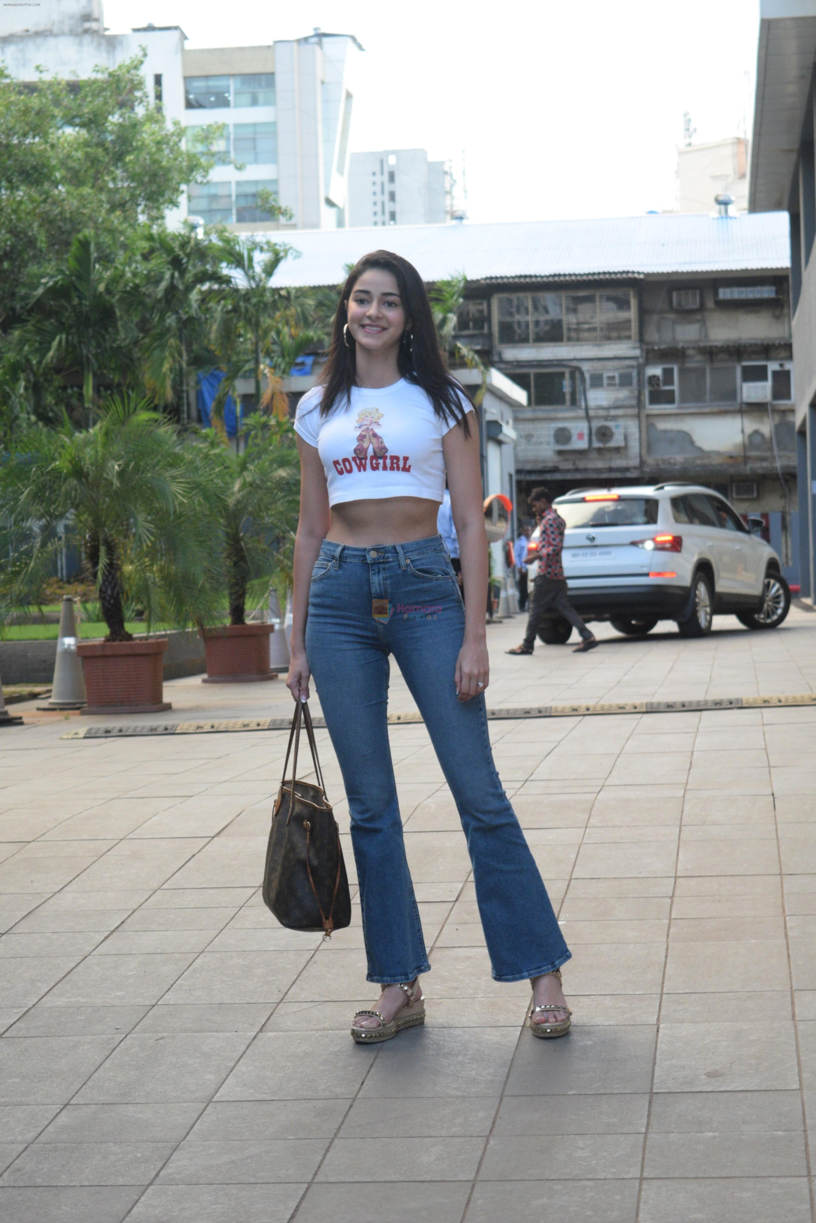 Ananya Pandey spotted at andheri on 28th Aug 2019