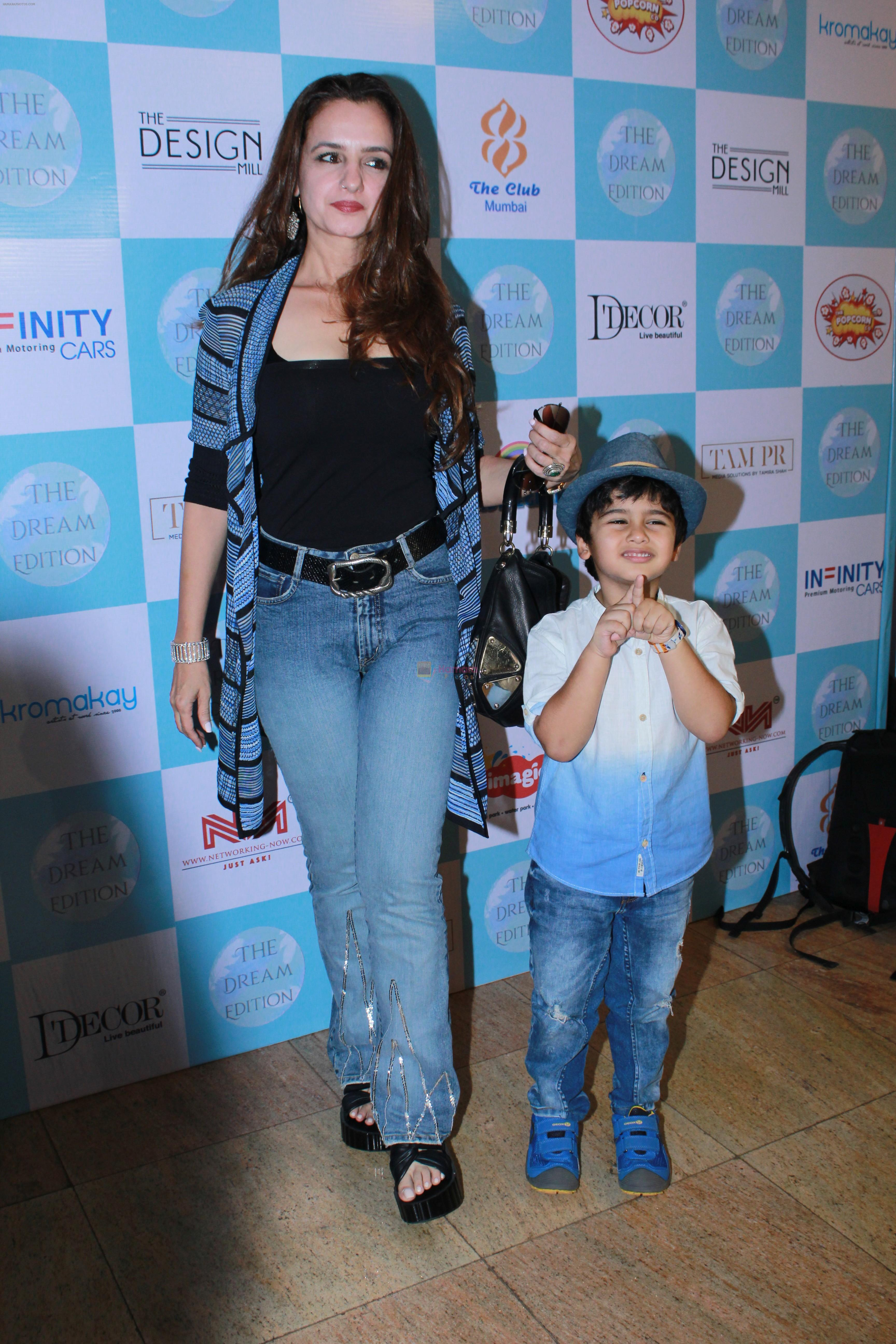 Laila Khan Rajpal At The Dream Edition Lifestyle Fare For Mommies & Kids on 28th AUg 2019