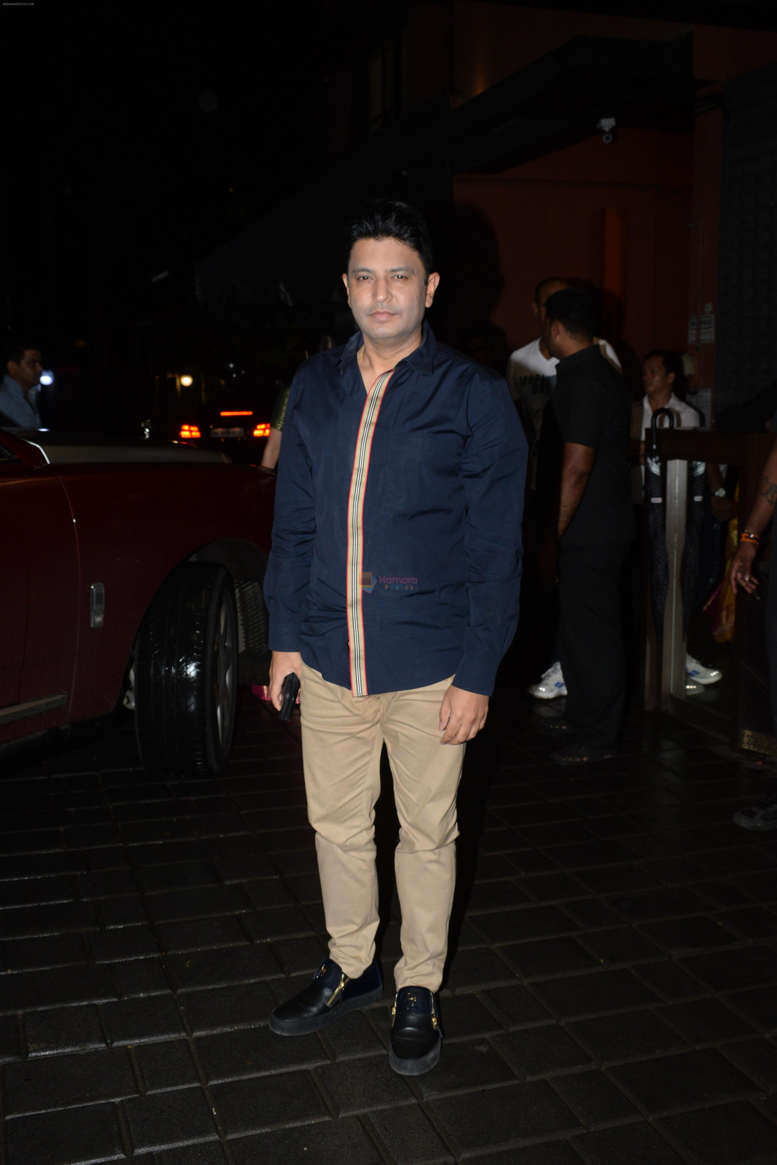 Bhushan Kumar at Arpita Khan's home for Ganesh Chaturthi on 2nd Sept 2019
