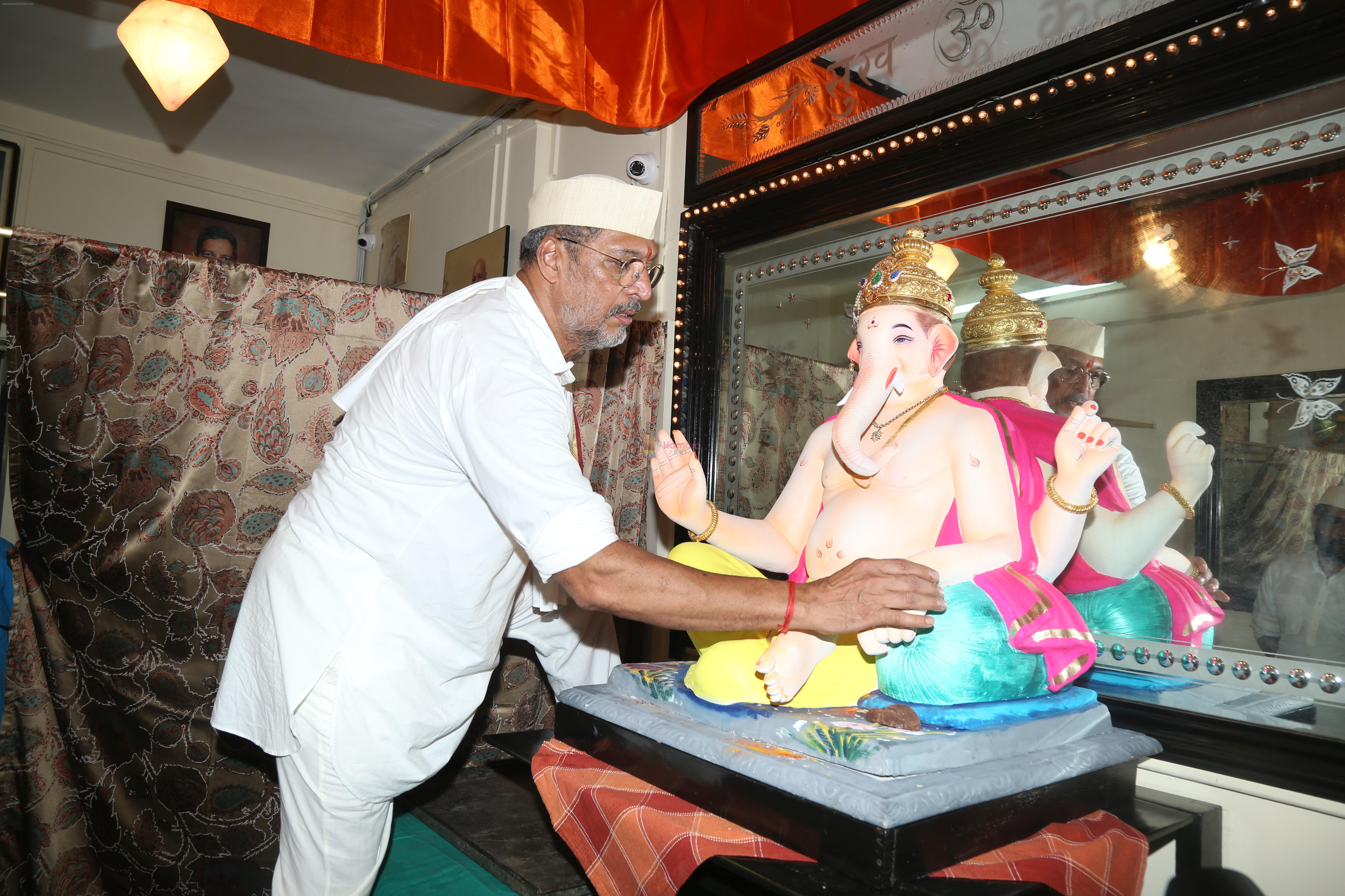 Nana Patekar's Ganpati celebration at his house on 2nd Sept 2019