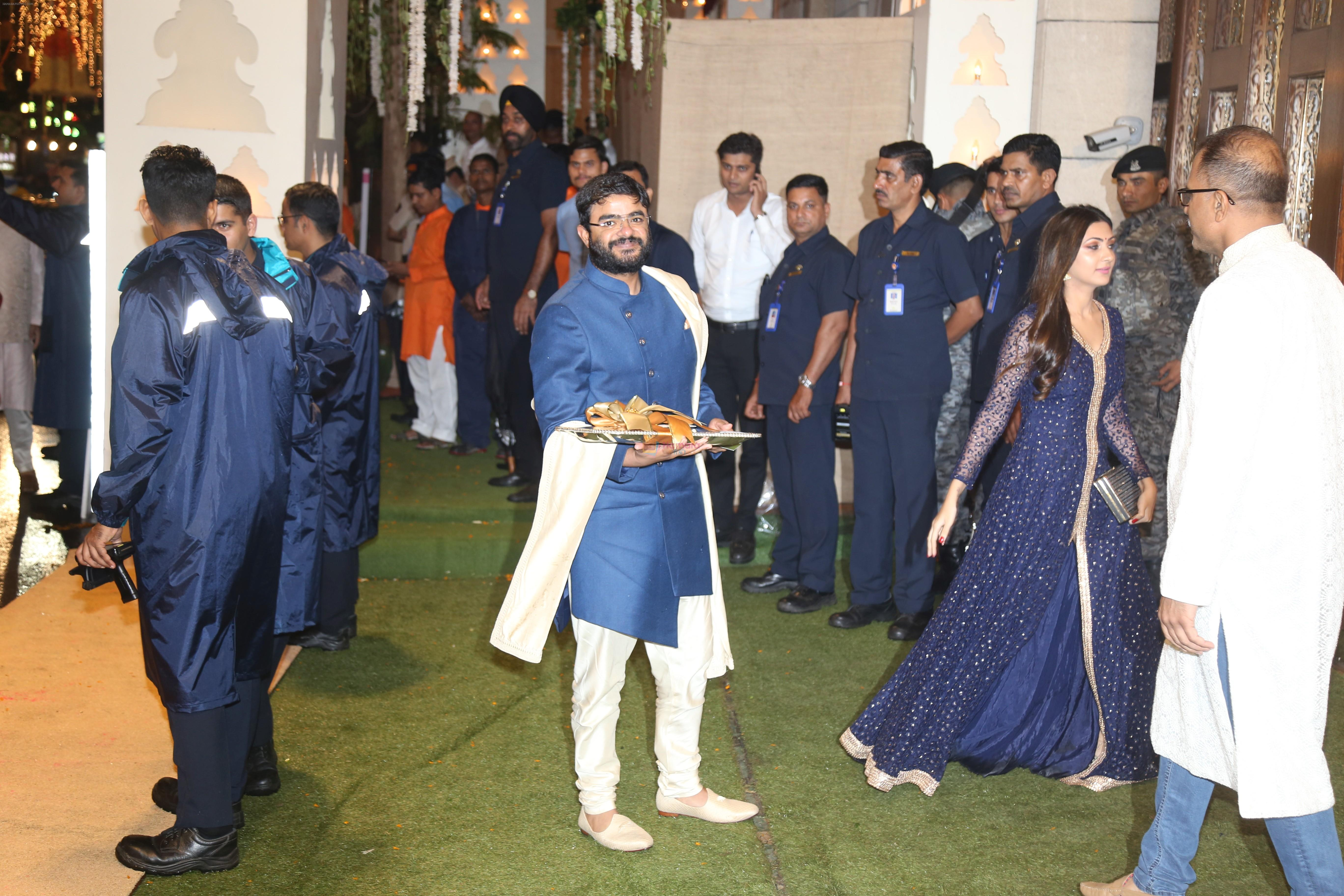 at Mukesh Ambani's house for Ganpati celebration on 2nd Sept 2019