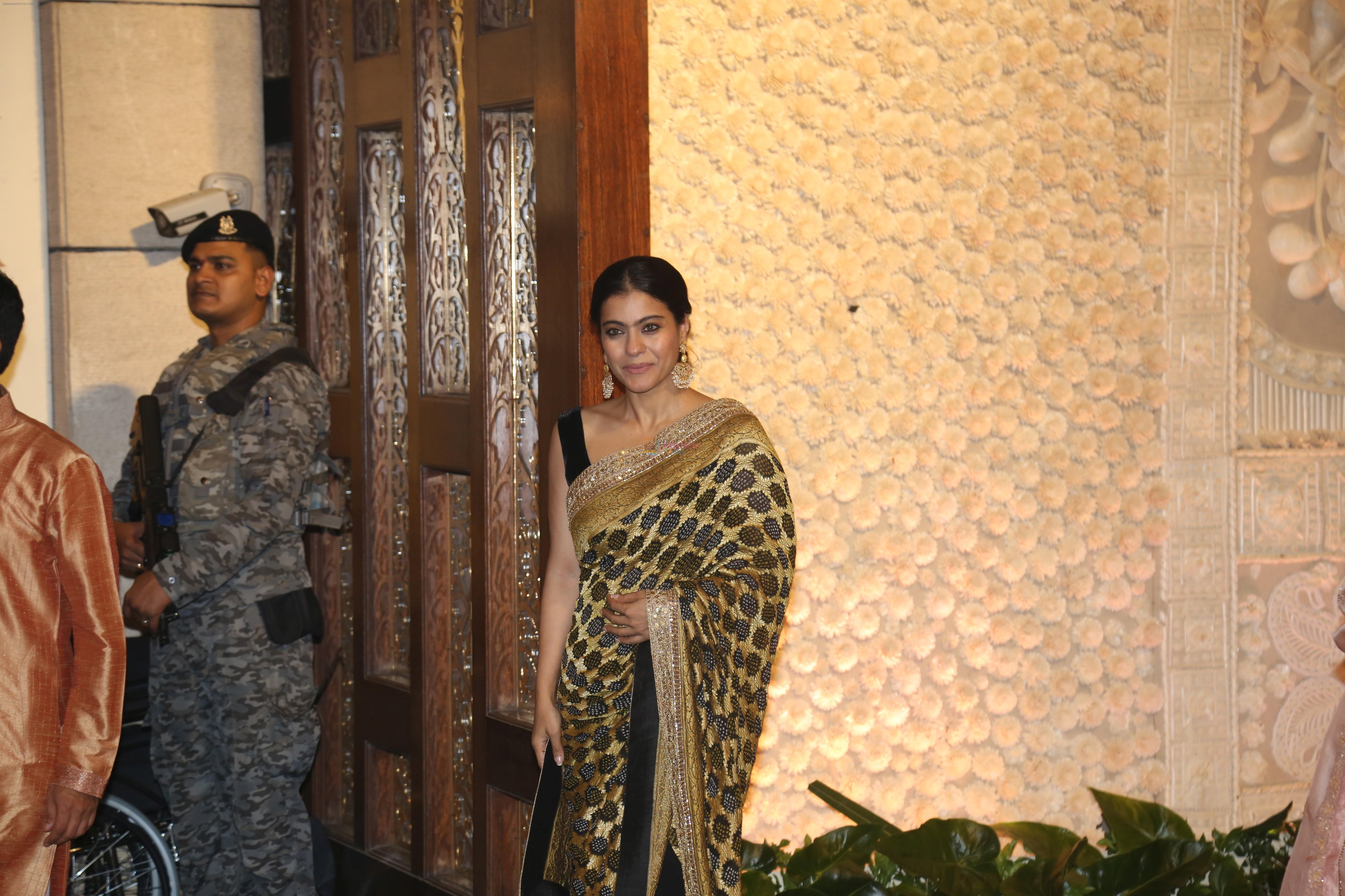 Kajol at Mukesh Ambani's house for Ganpati celebration on 2nd Sept 2019