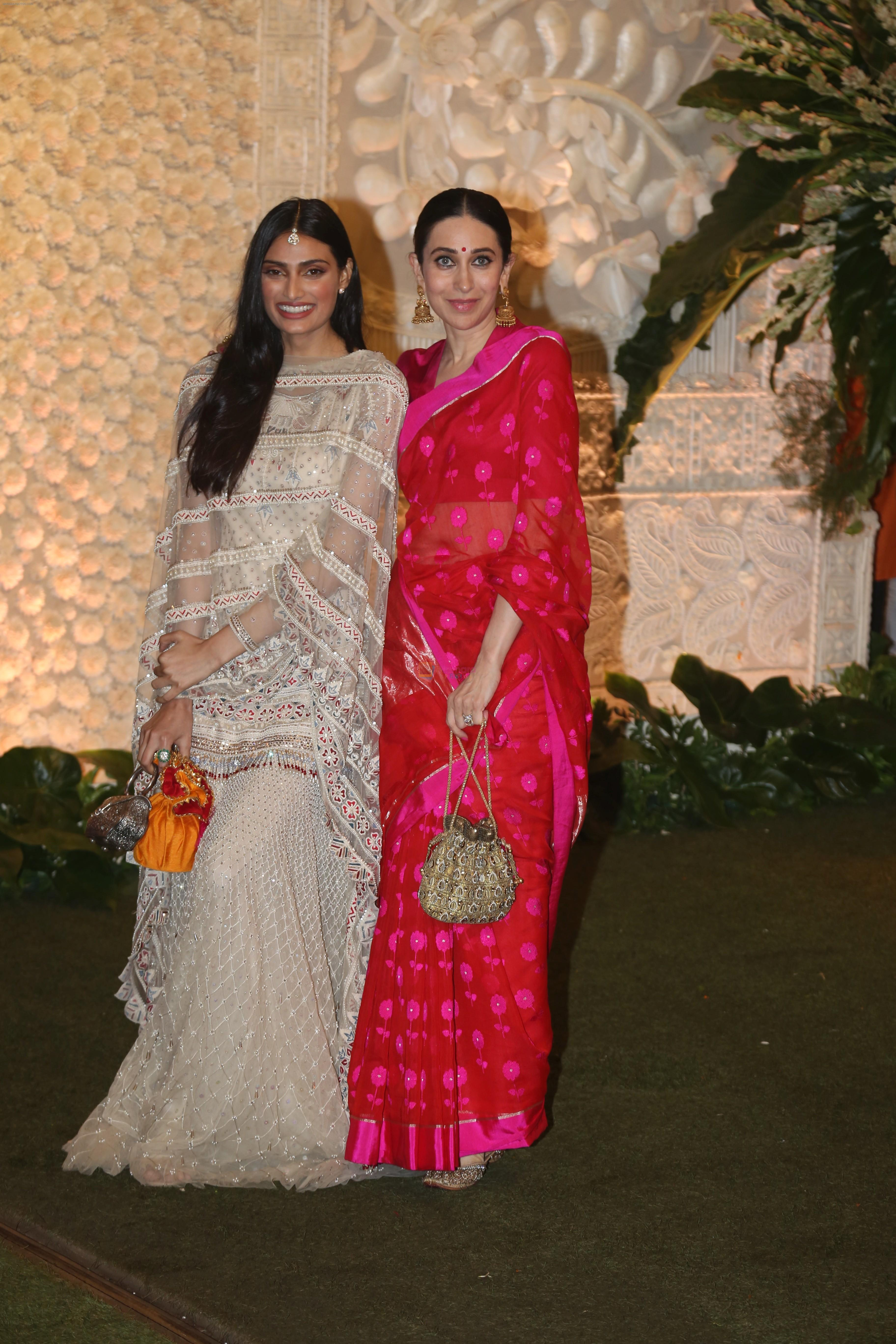Karisma Kapoor at Mukesh Ambani's house for Ganpati celebration on 2nd Sept 2019