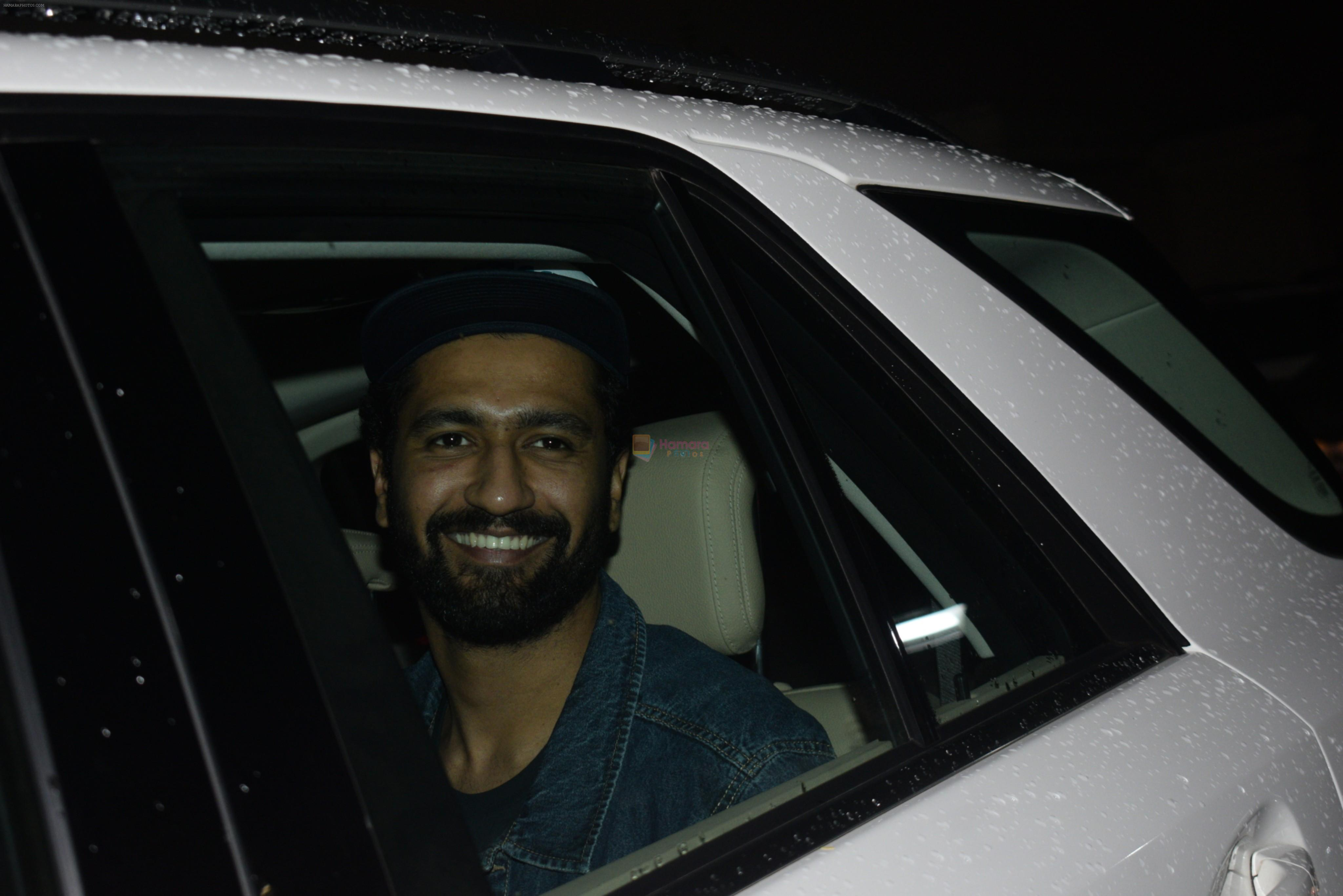 Vicky Kaushal at the Screening of film Chhichore in yashraj studio, andheri on 4th Sept 2019