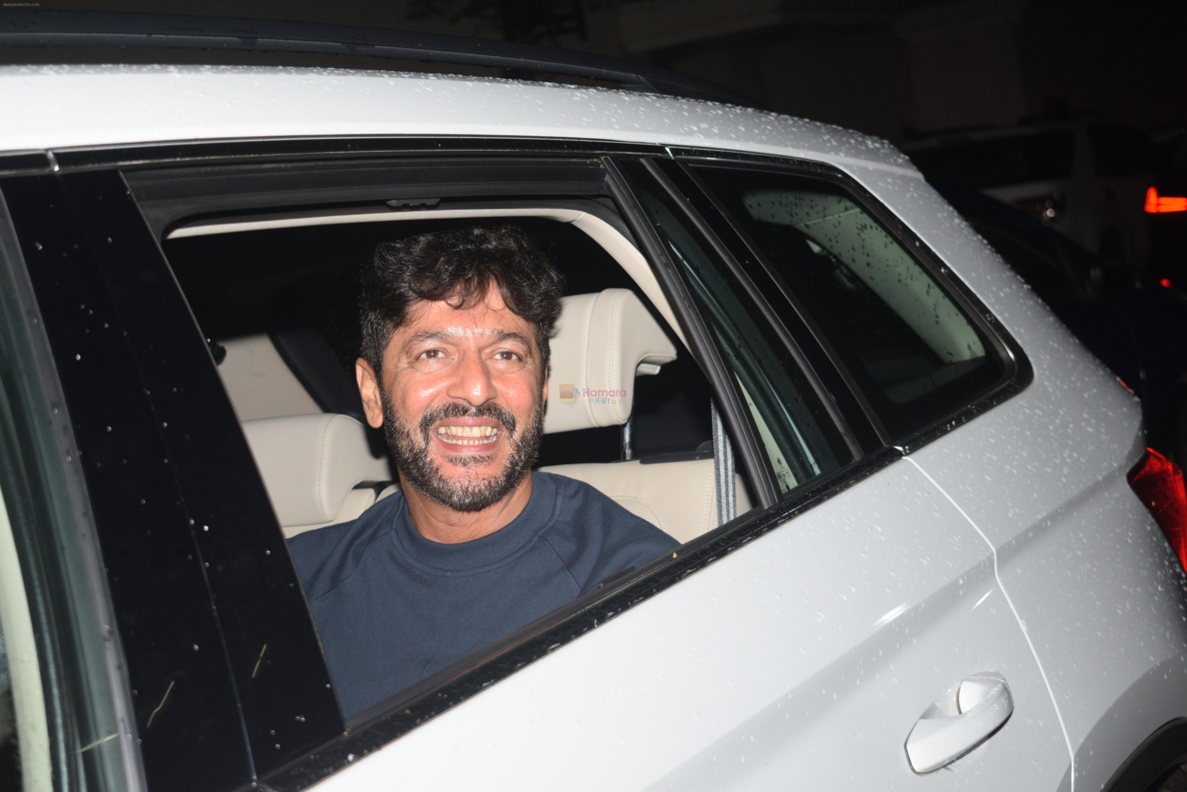 Chunky Pandey at the Screening of film Chhichore in yashraj studio, andheri on 4th Sept 2019