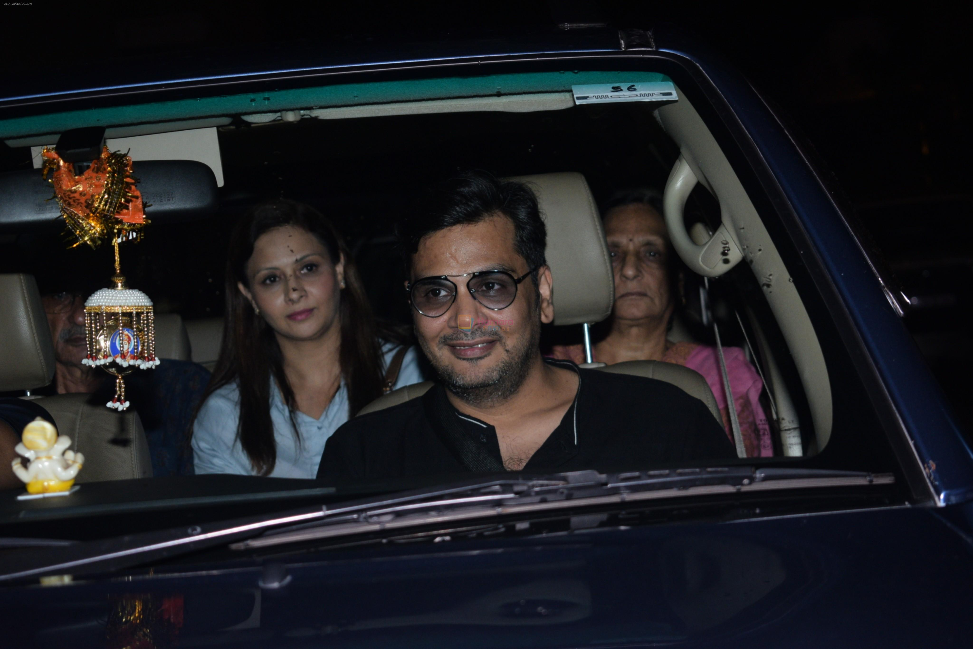 Mukesh Chhabra at the Screening of film Chhichore in yashraj studio, andheri on 4th Sept 2019