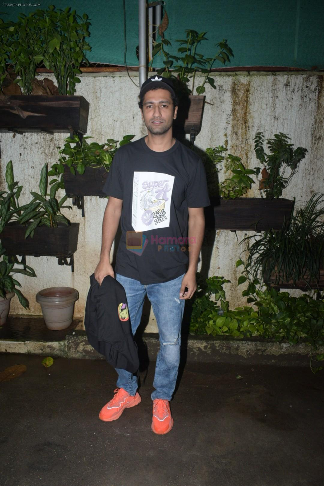 Vicky Kaushal at the Screening of Section 375 in Sunny Sound juhu on 12th Sept 2019