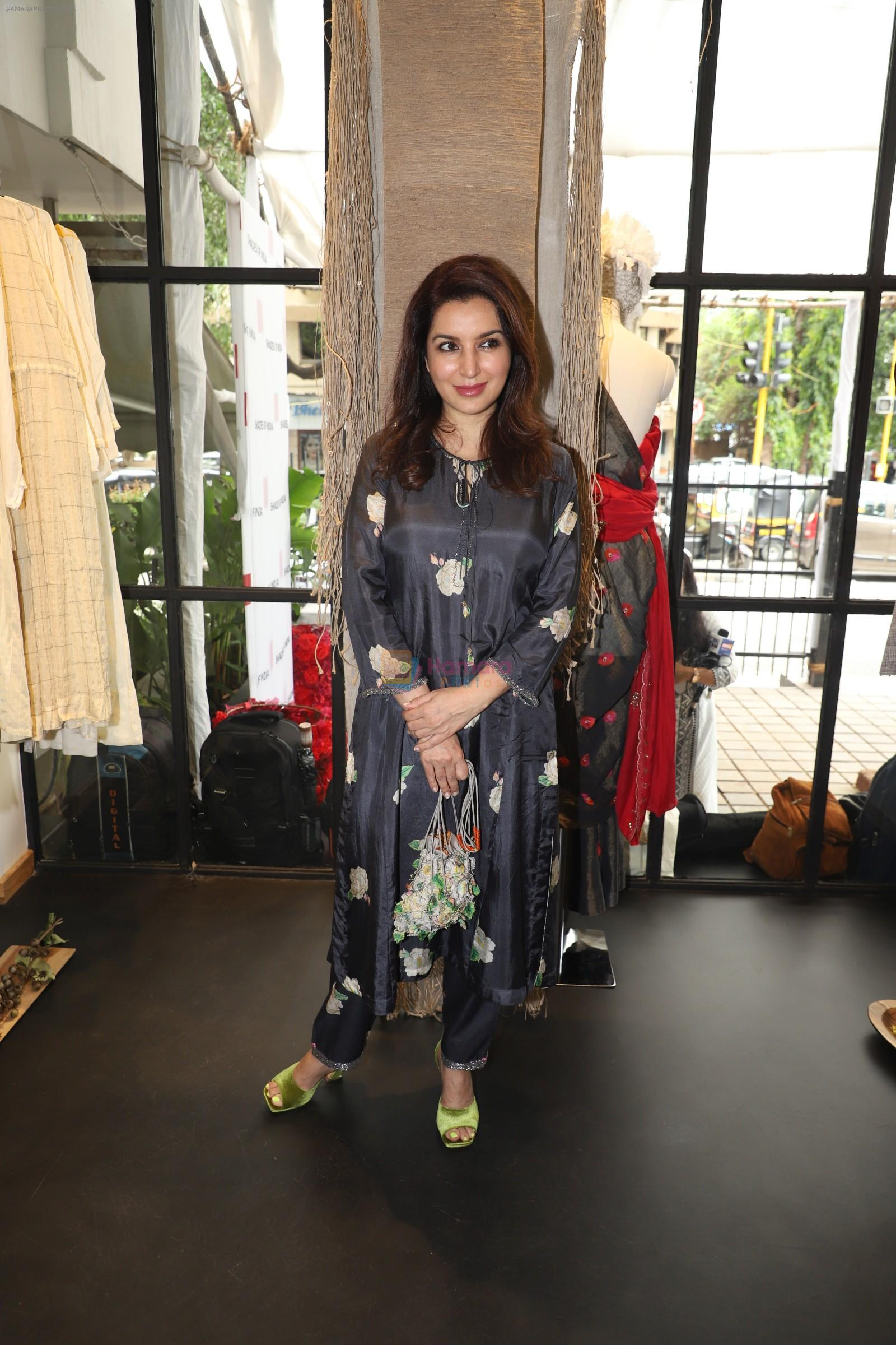 Tisca Chopra at the launch of the flagship store of Shades of India, an award-winning lifestyle Mumbai on 12th Sept 2019