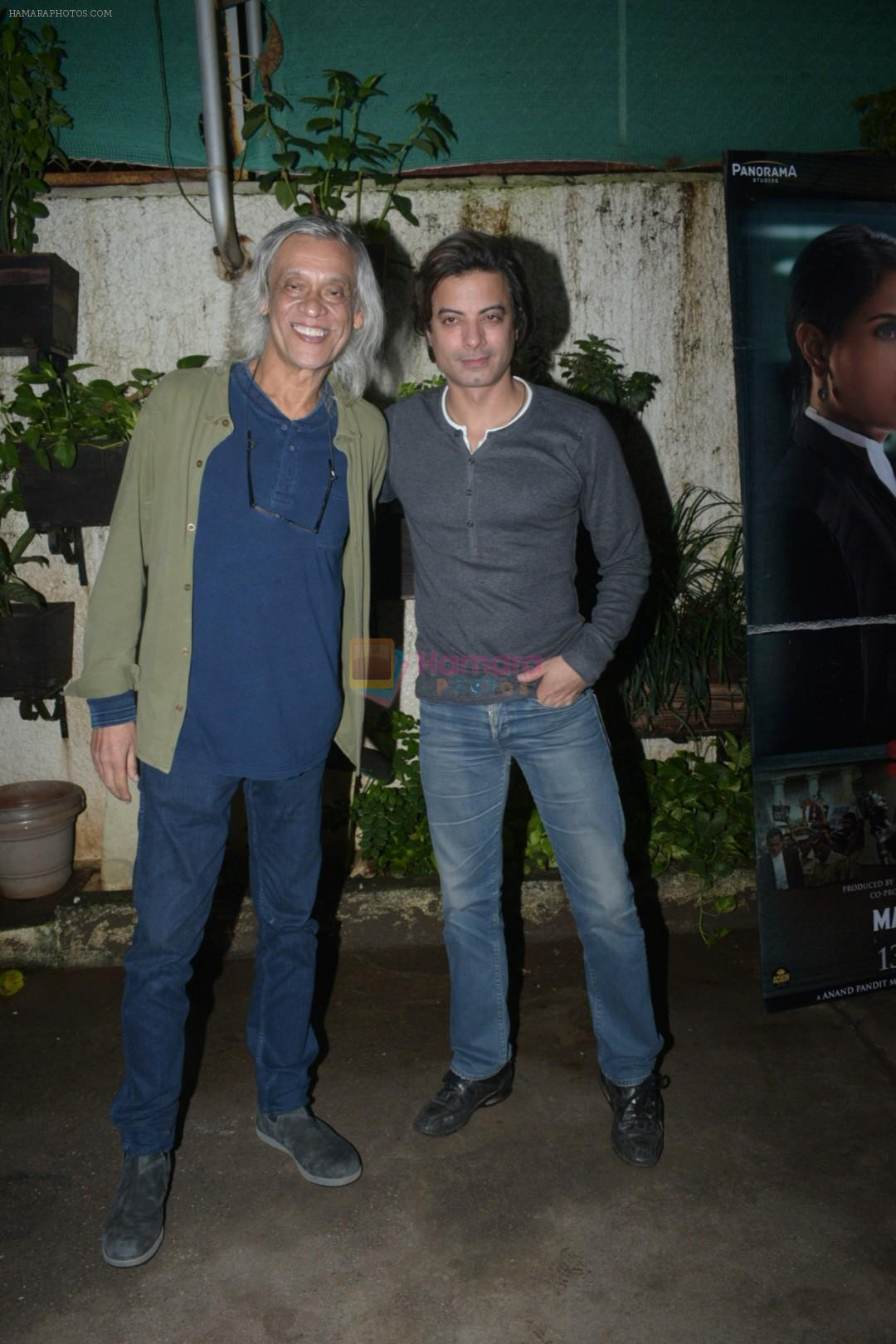 Sudhir Mishra at the Screening of Section 375 in Sunny Sound juhu on 12th Sept 2019