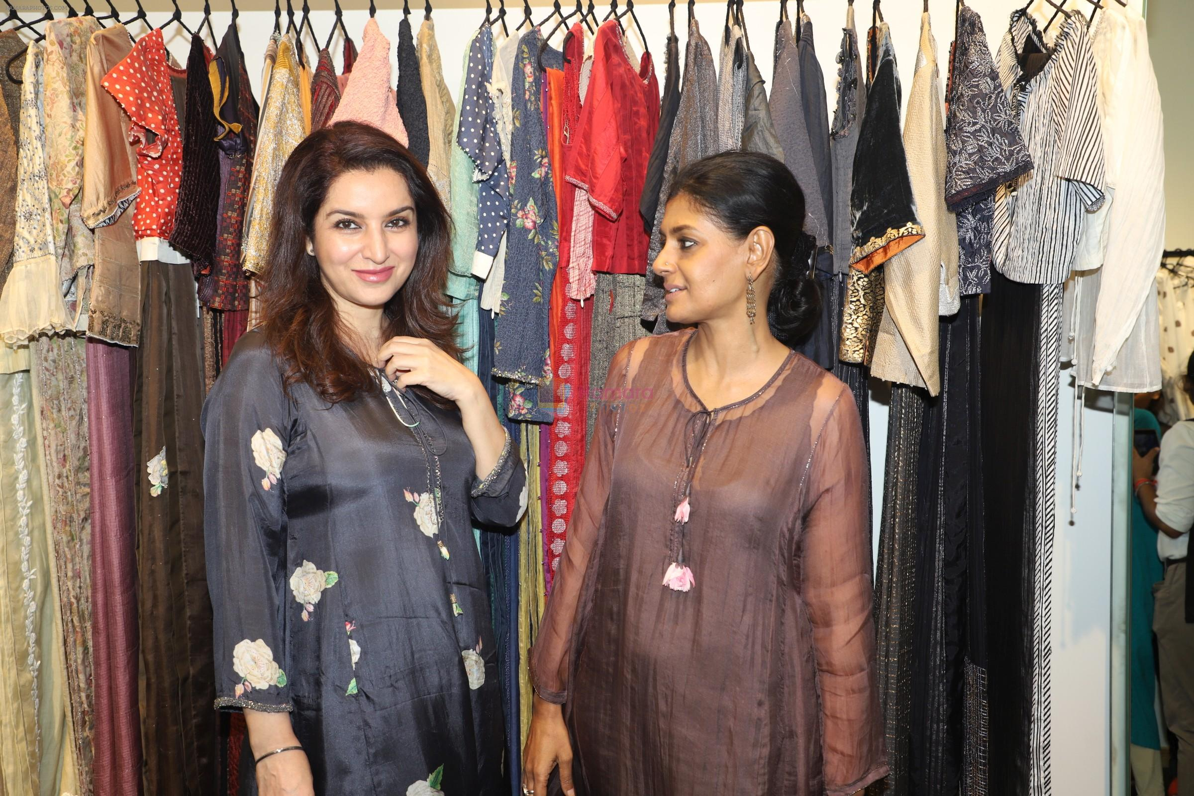 Tisca Chopra, Nandita Das at the launch of the flagship store of Shades of India, an award-winning lifestyle Mumbai on 12th Sept 2019