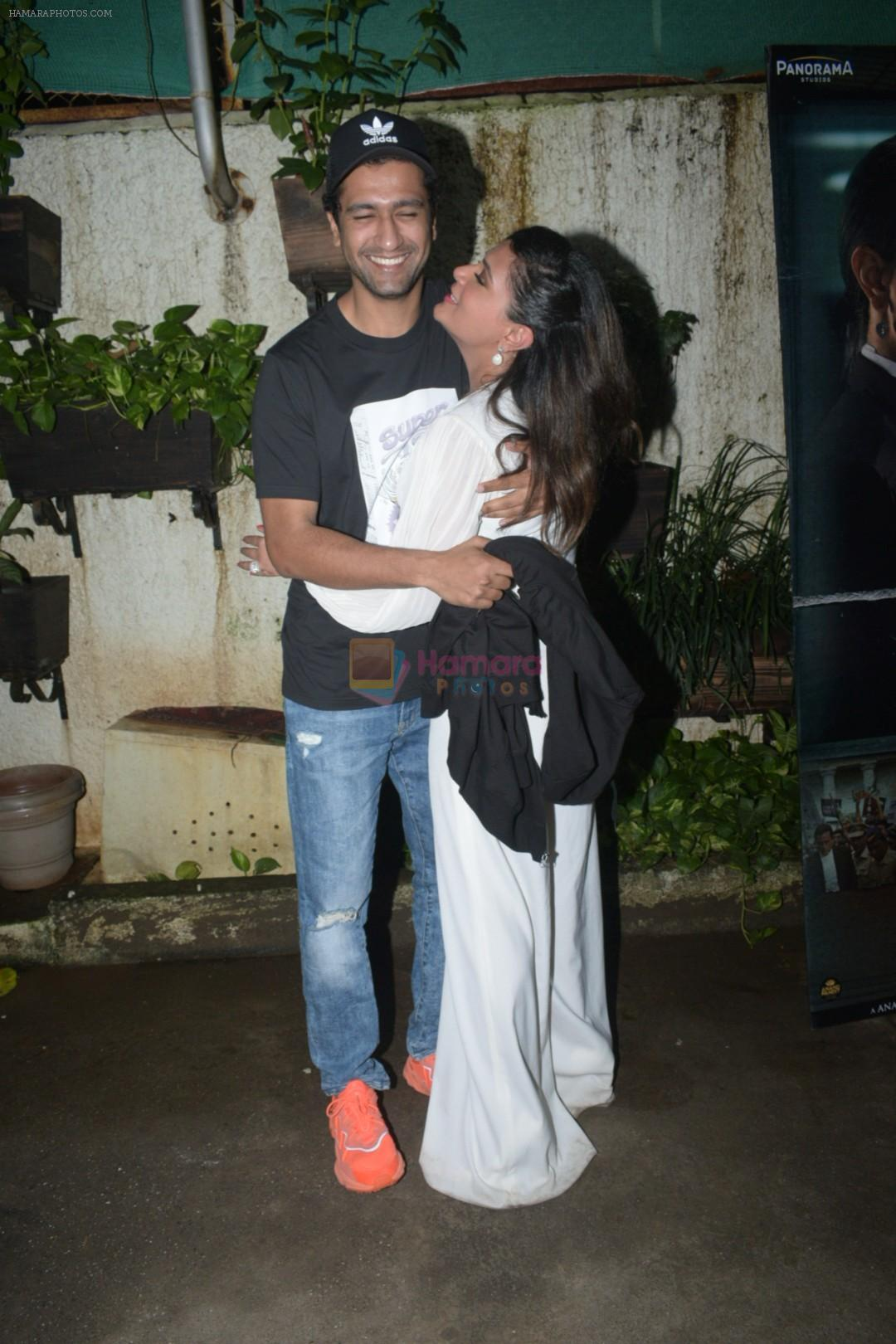 Richa Chadda, Vicky Kaushal at the Screening of Section 375 in Sunny Sound juhu on 12th Sept 2019
