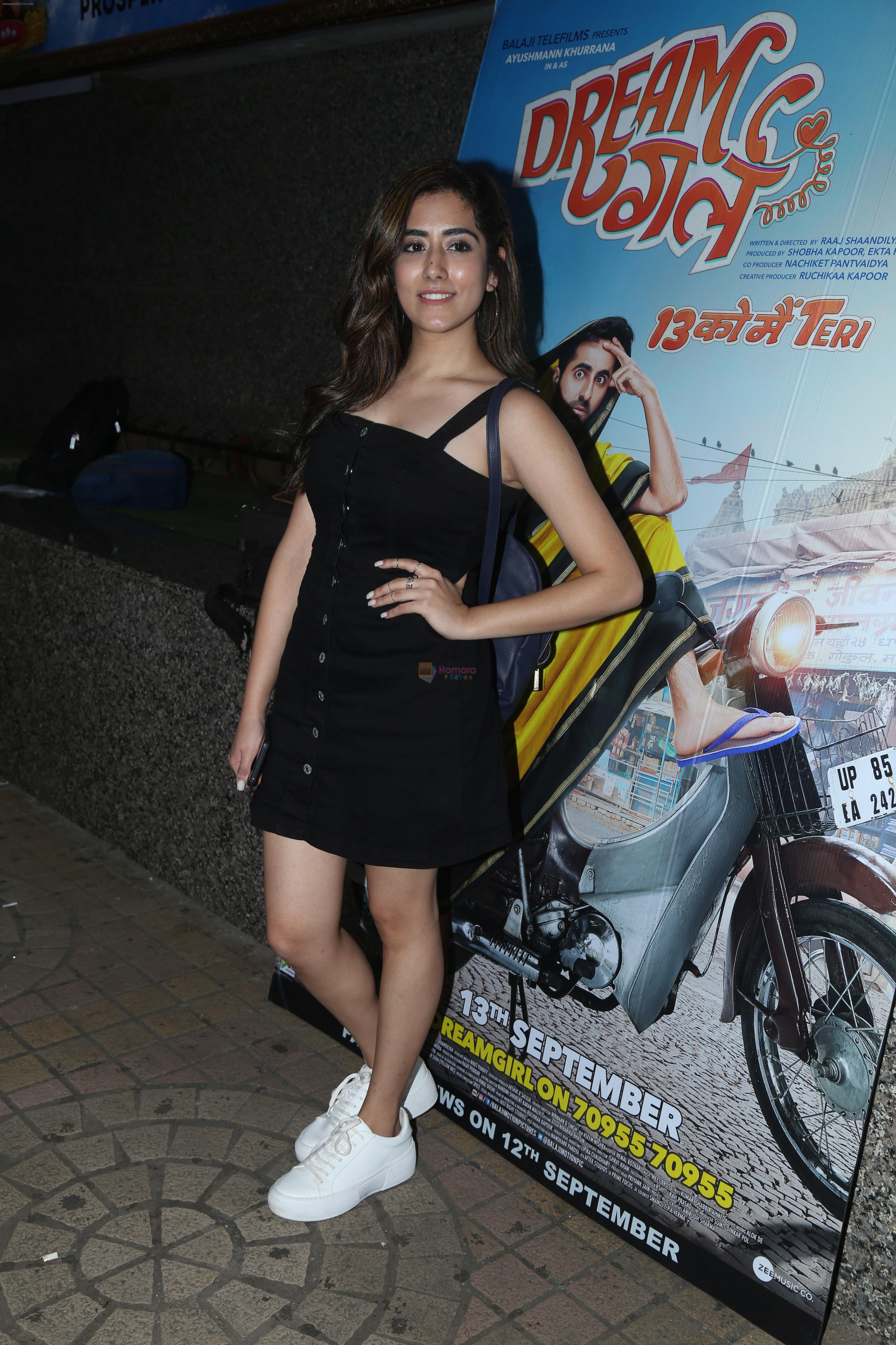 at the Screening of film Dream Girl at pvr ecx in andheri on 12th Sept 2019