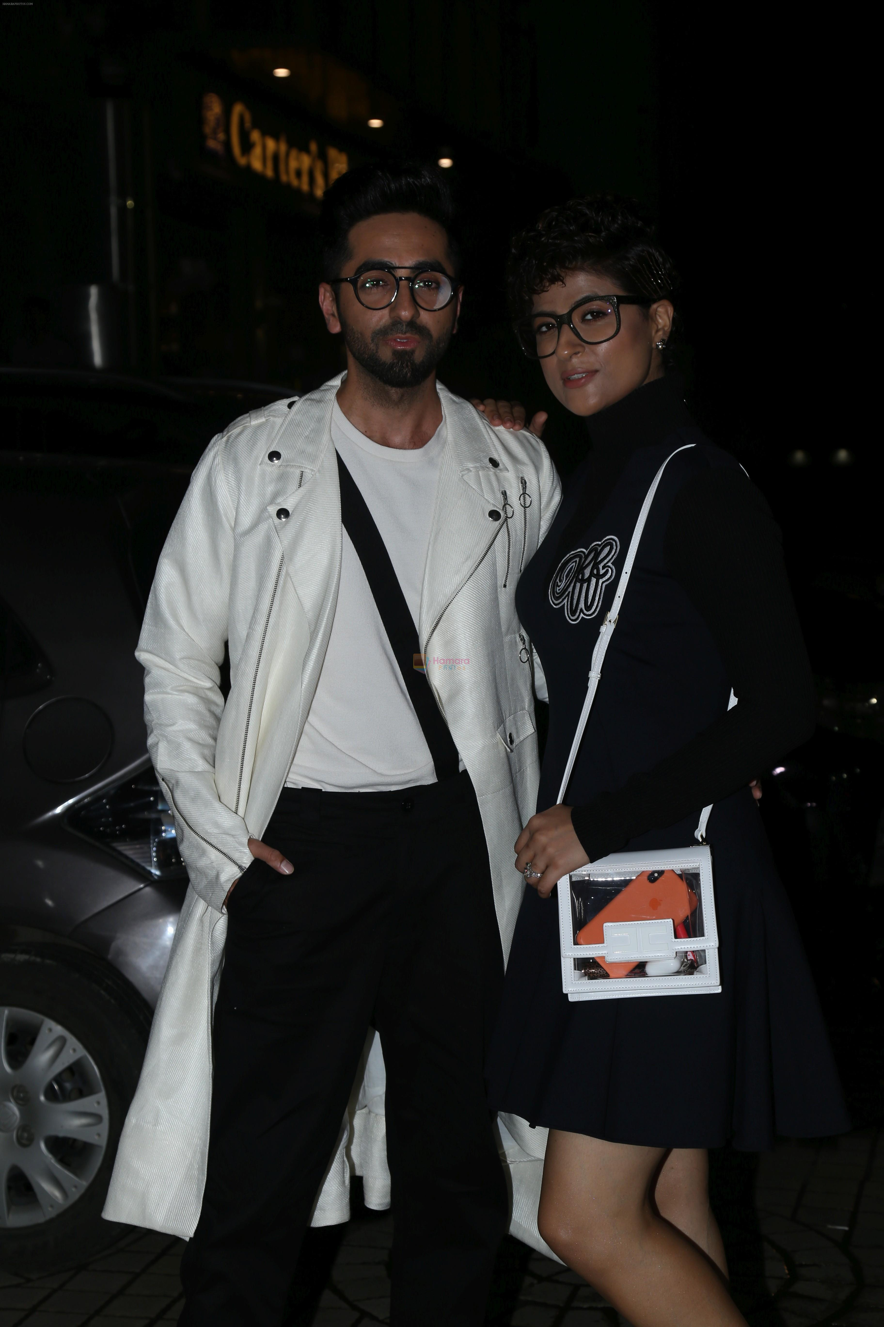 Ayushmann khurrana at the Screening of film Dream Girl at pvr ecx in andheri on 12th Sept 2019