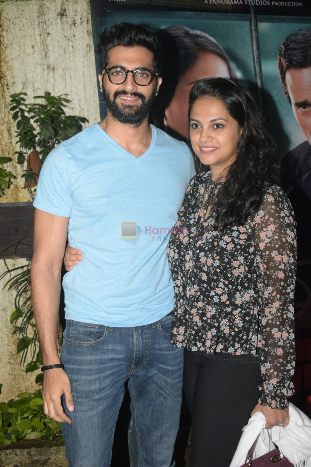 Akshay Oberoi at the Screening of Section 375 in Sunny Sound juhu on 12th Sept 2019