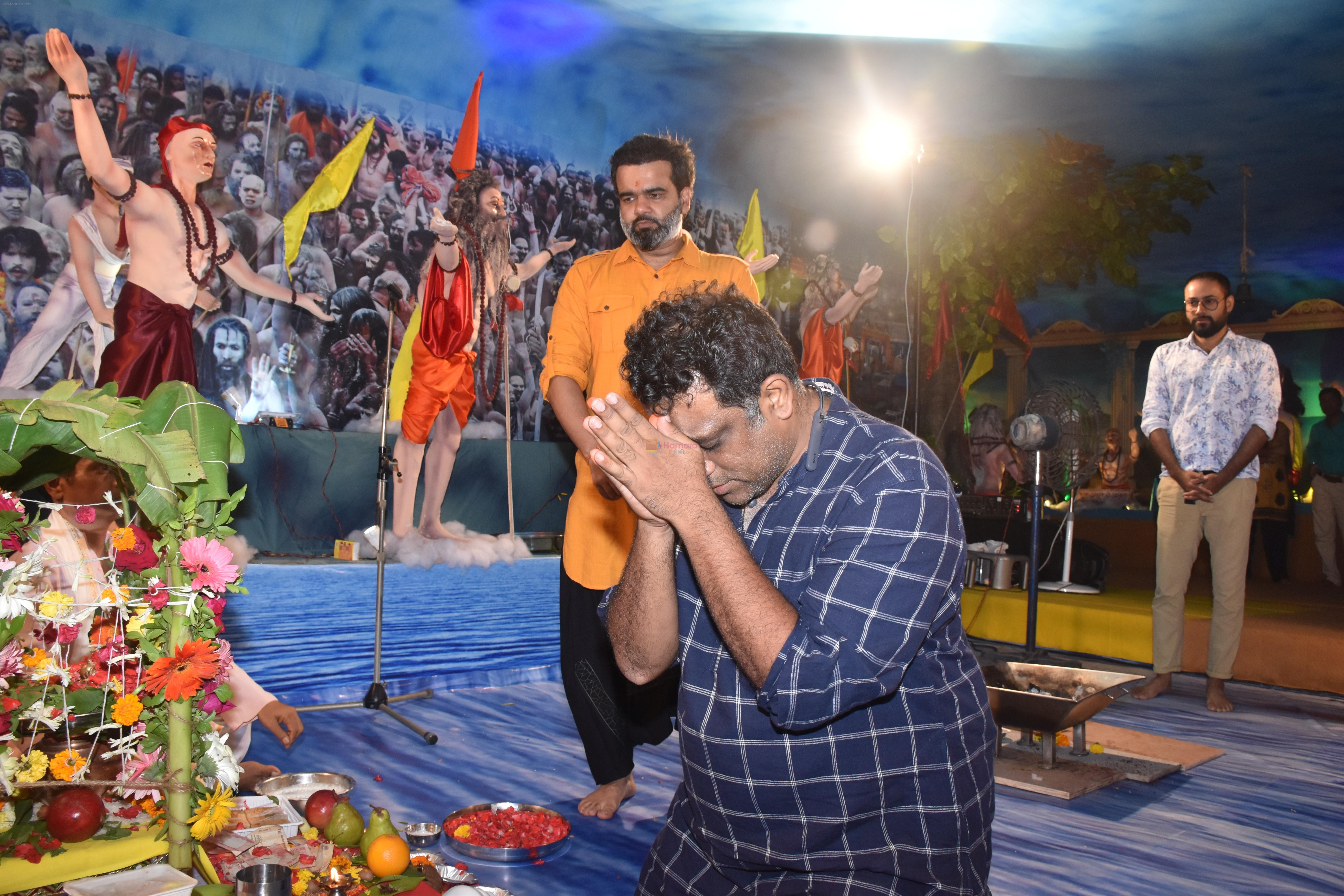 Anurag Basu at Tseries office in andheri for Ganesh darshan on 12th Sept 2019