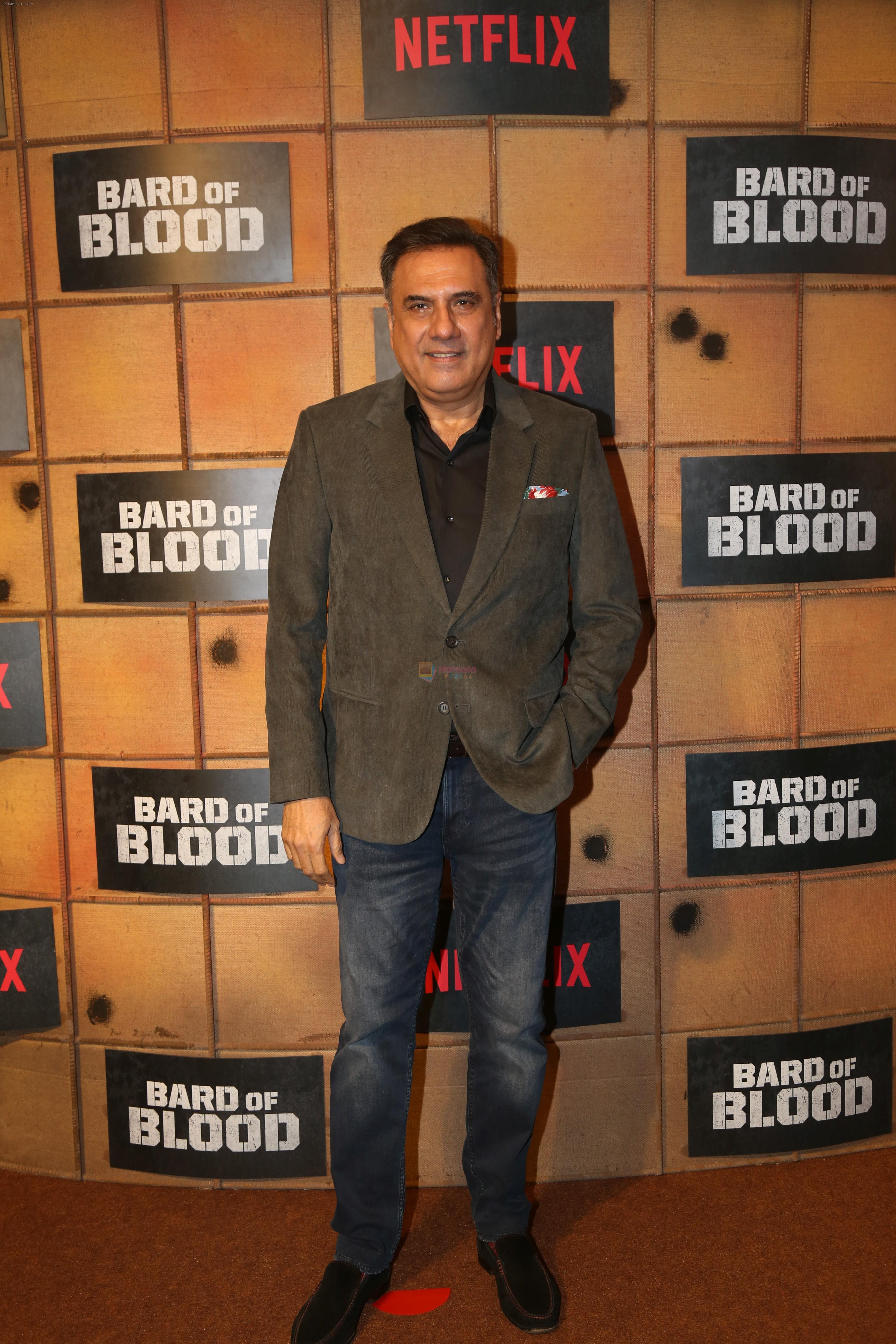 Boman Irani at the screening Netflix Bard of Blood in pvr Phoenix lower parel on 24th Sept 2019