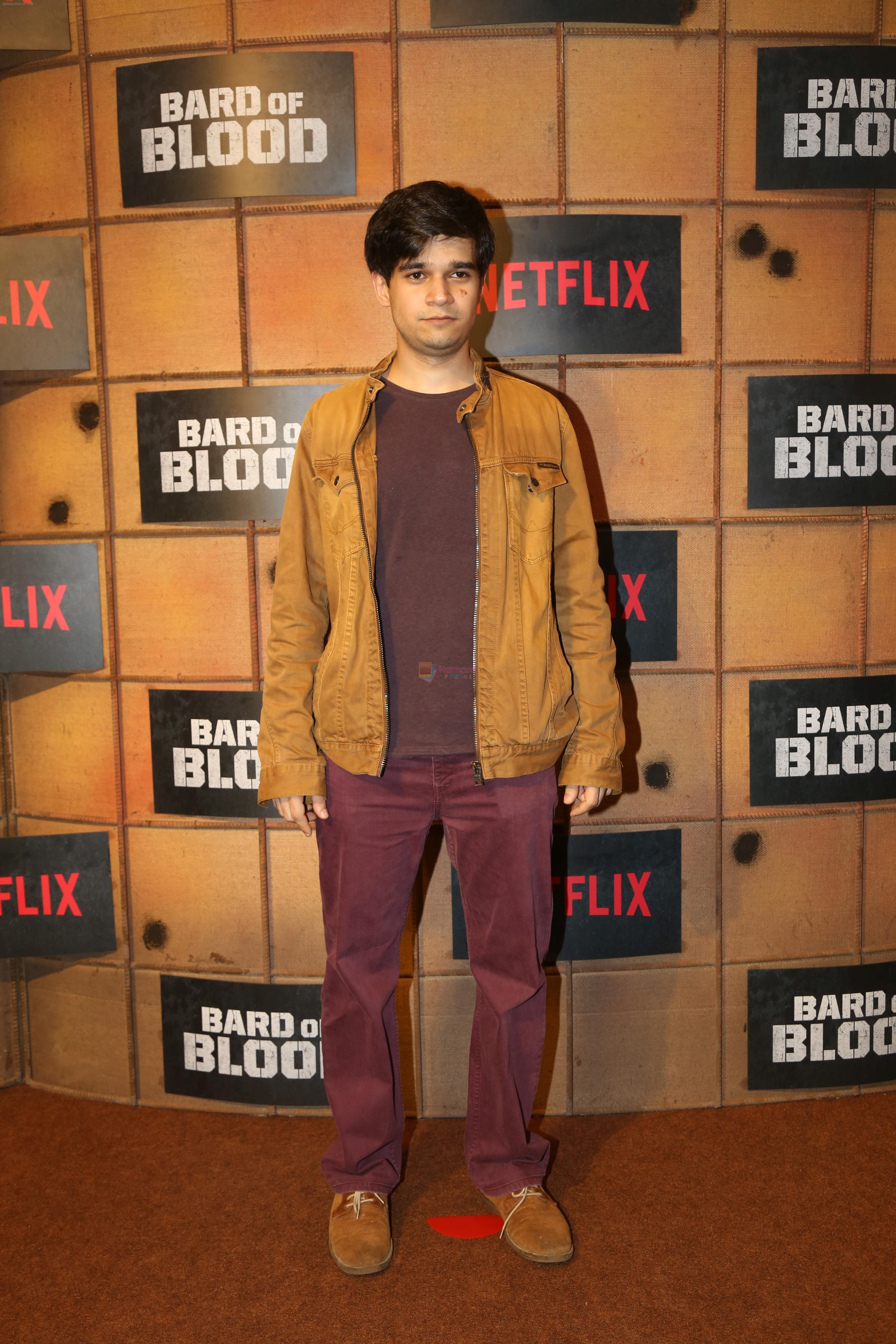 Vivaan Shah at the screening Netflix Bard of Blood in pvr Phoenix lower parel on 24th Sept 2019