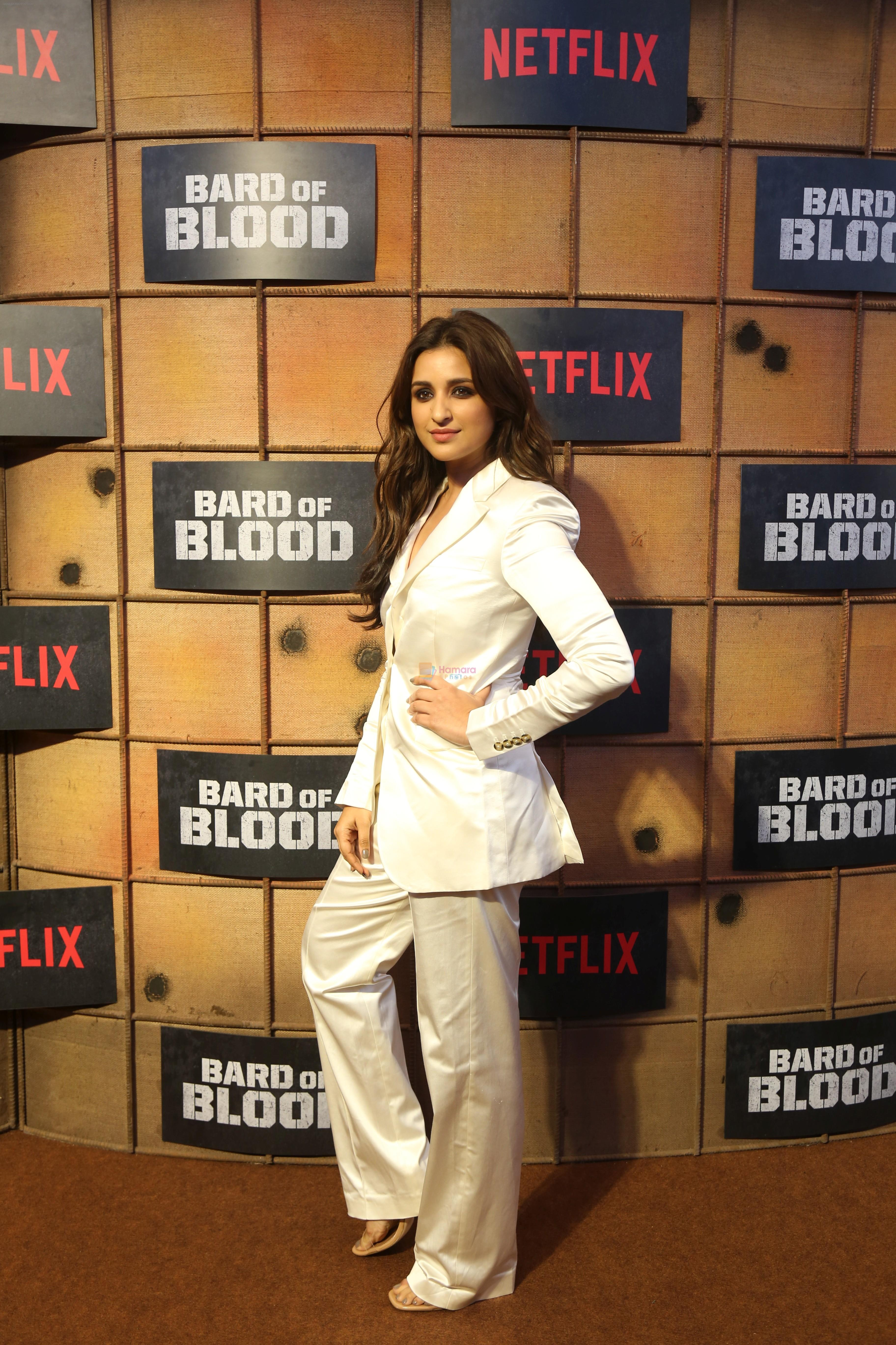 Parineeti Chopra at the screening Netflix Bard of Blood in pvr Phoenix lower parel on 24th Sept 2019