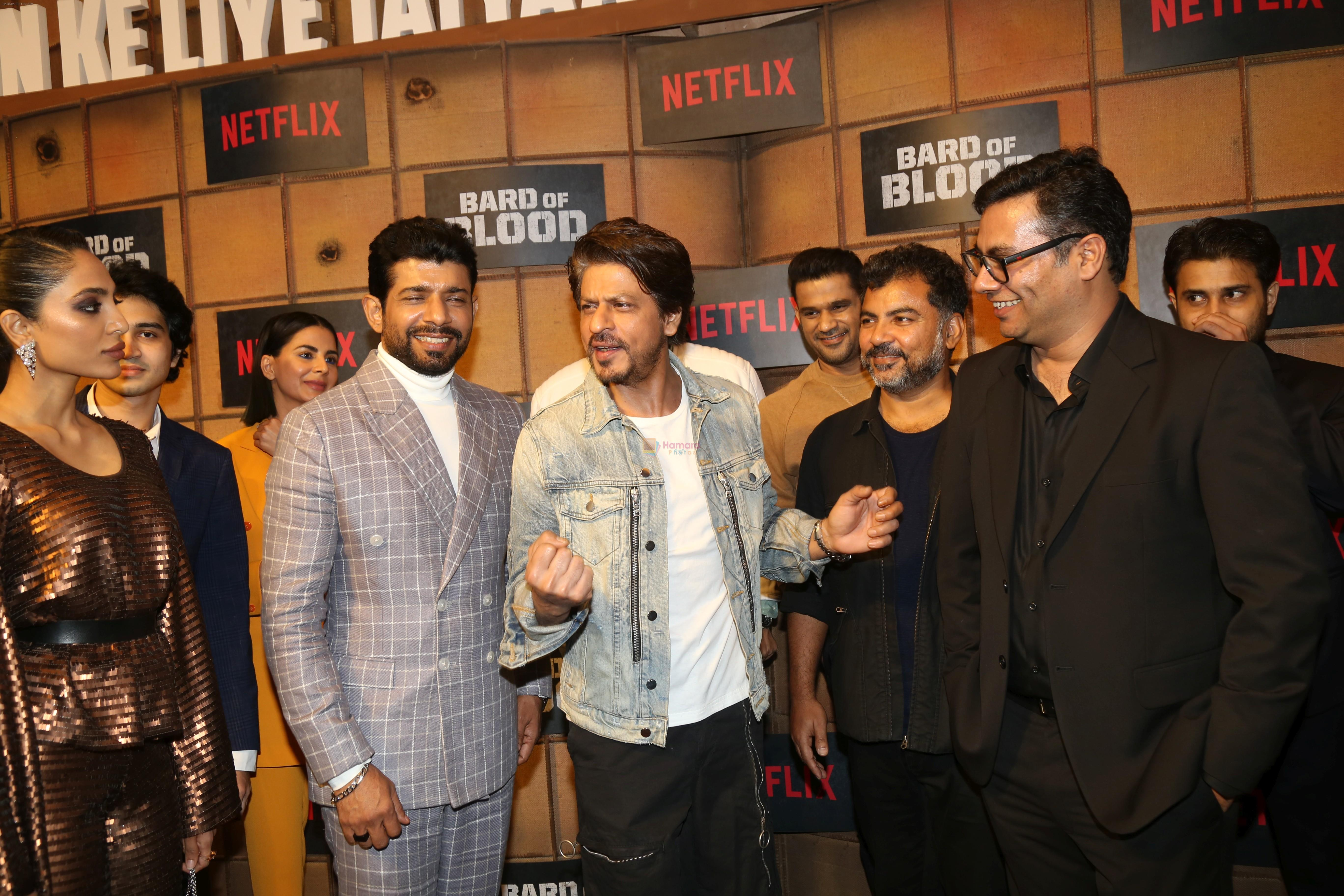 Shah Rukh Khan at the screening Netflix Bard of Blood in pvr Phoenix lower parel on 24th Sept 2019