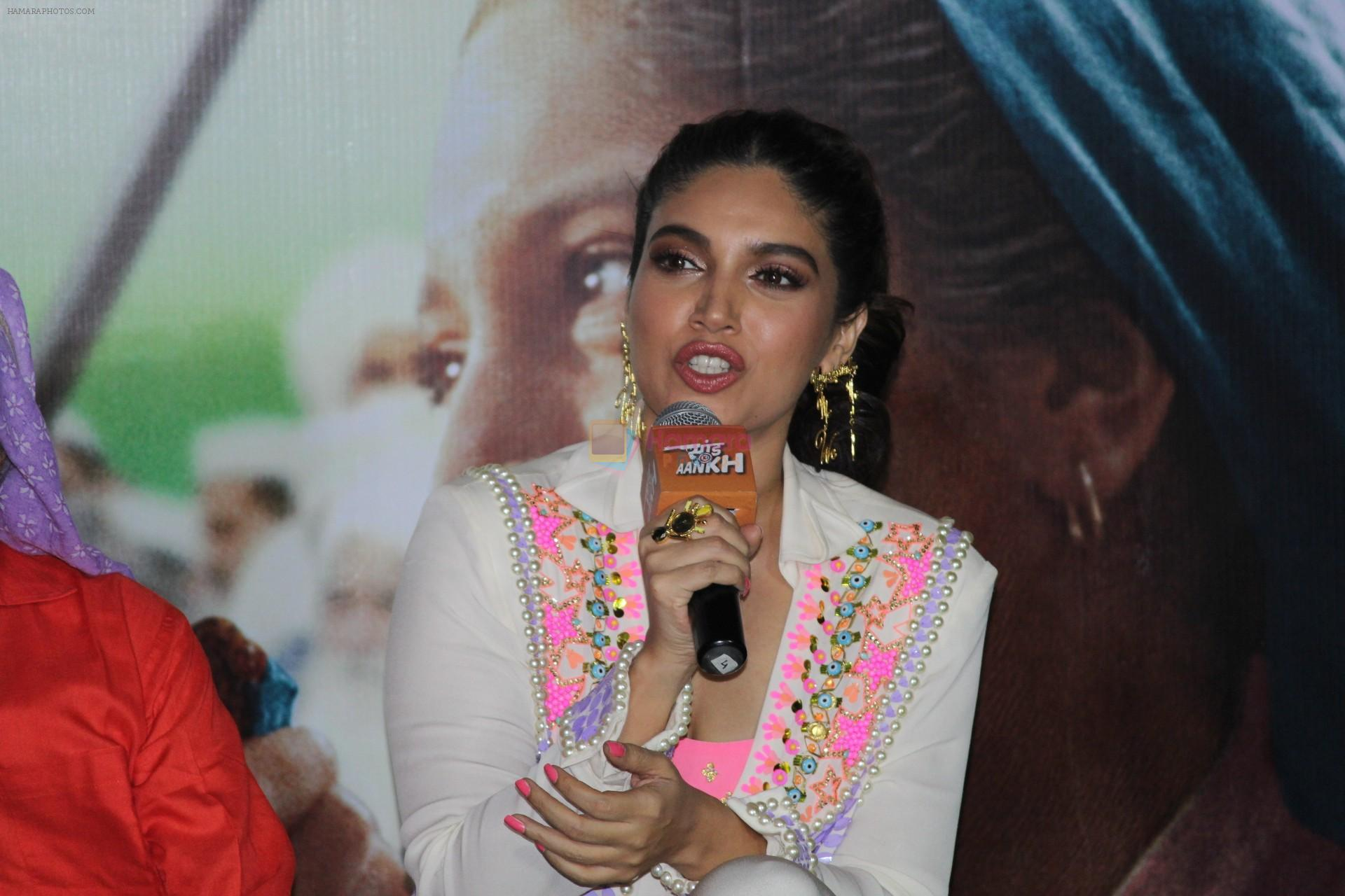 Bhumi Pednekar at the Trailer Launch Of Film Saand Ki Aankh on 24th Sept 2019