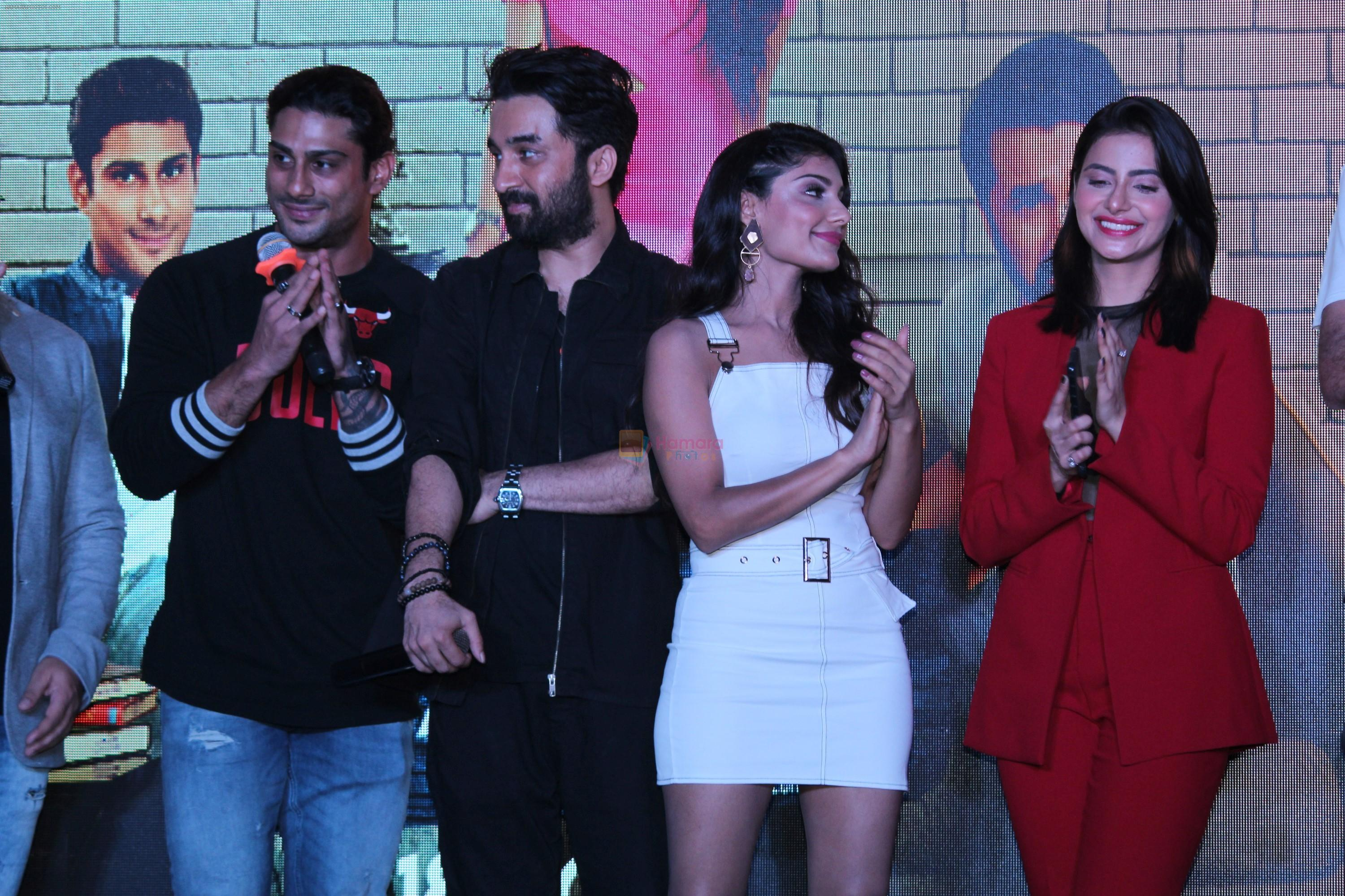Siddhanth Kapoor, Prateik Babbar, Ishita Raj Sharma, Subha Rajput at the trailer launch of film Yaaram on 24th Sept 2019