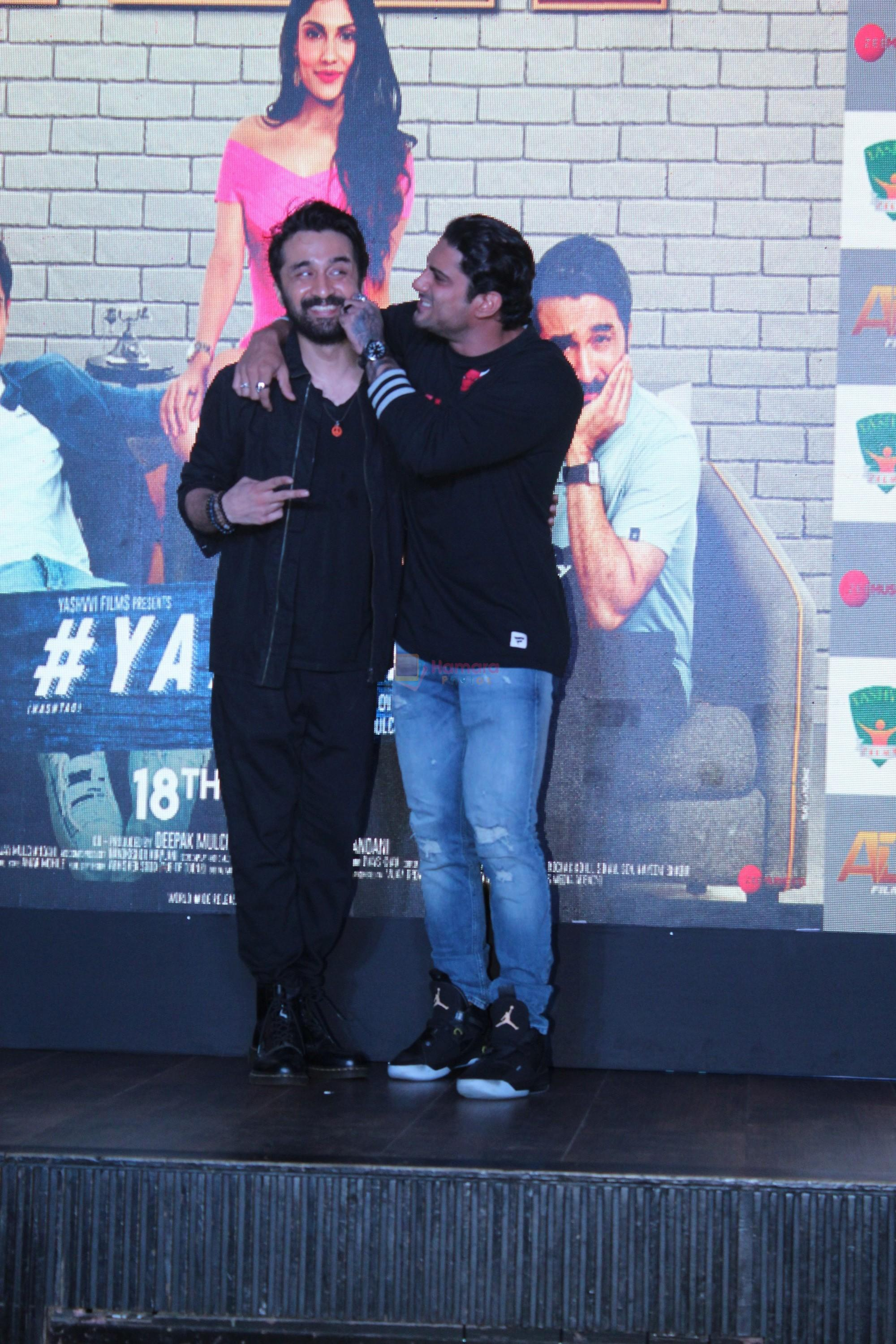 Siddhanth Kapoor, Prateik Babbar at the trailer launch of film Yaaram on 24th Sept 2019