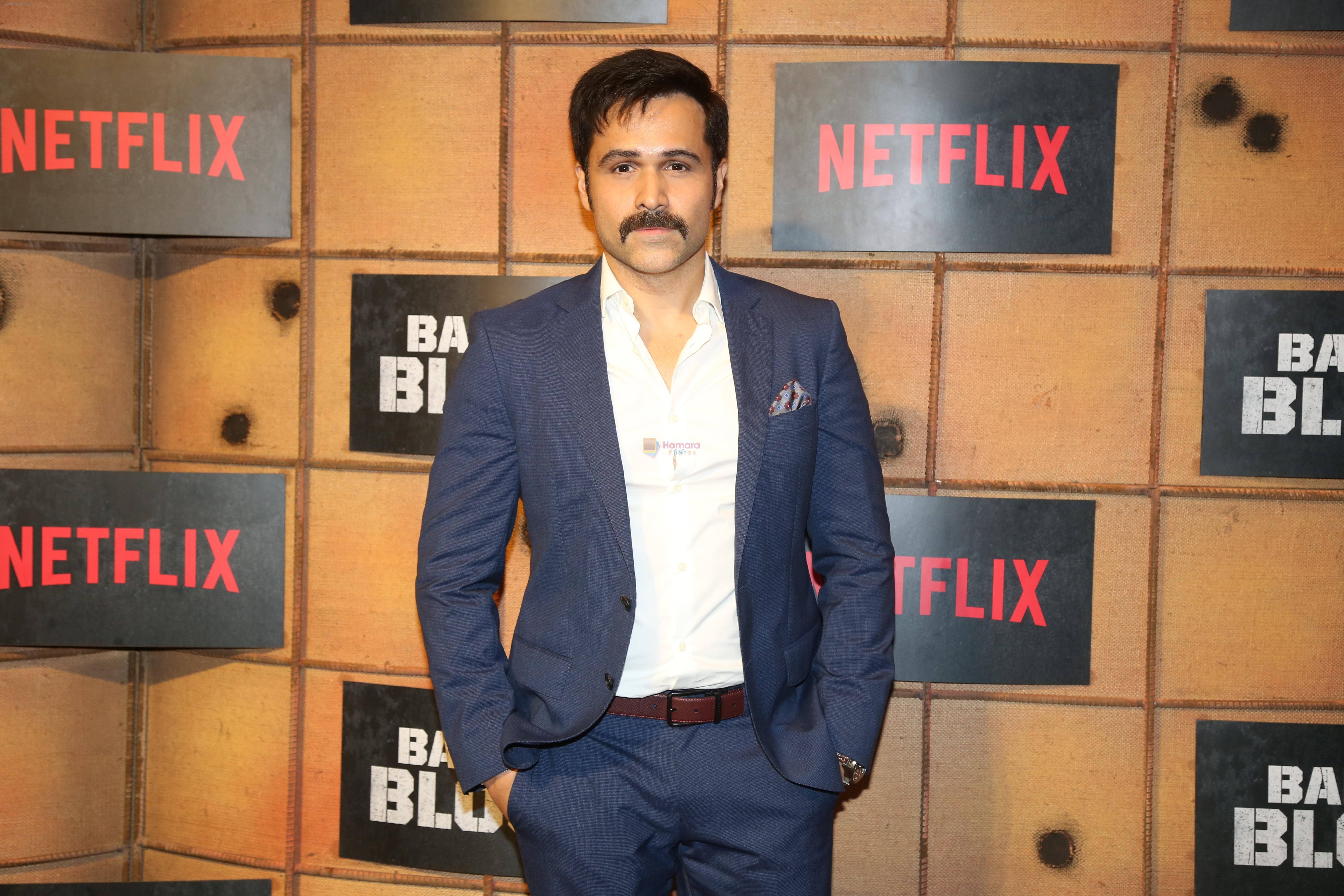 Emraan Hashmi at the screening Netflix Bard of Blood in pvr Phoenix lower parel on 24th Sept 2019