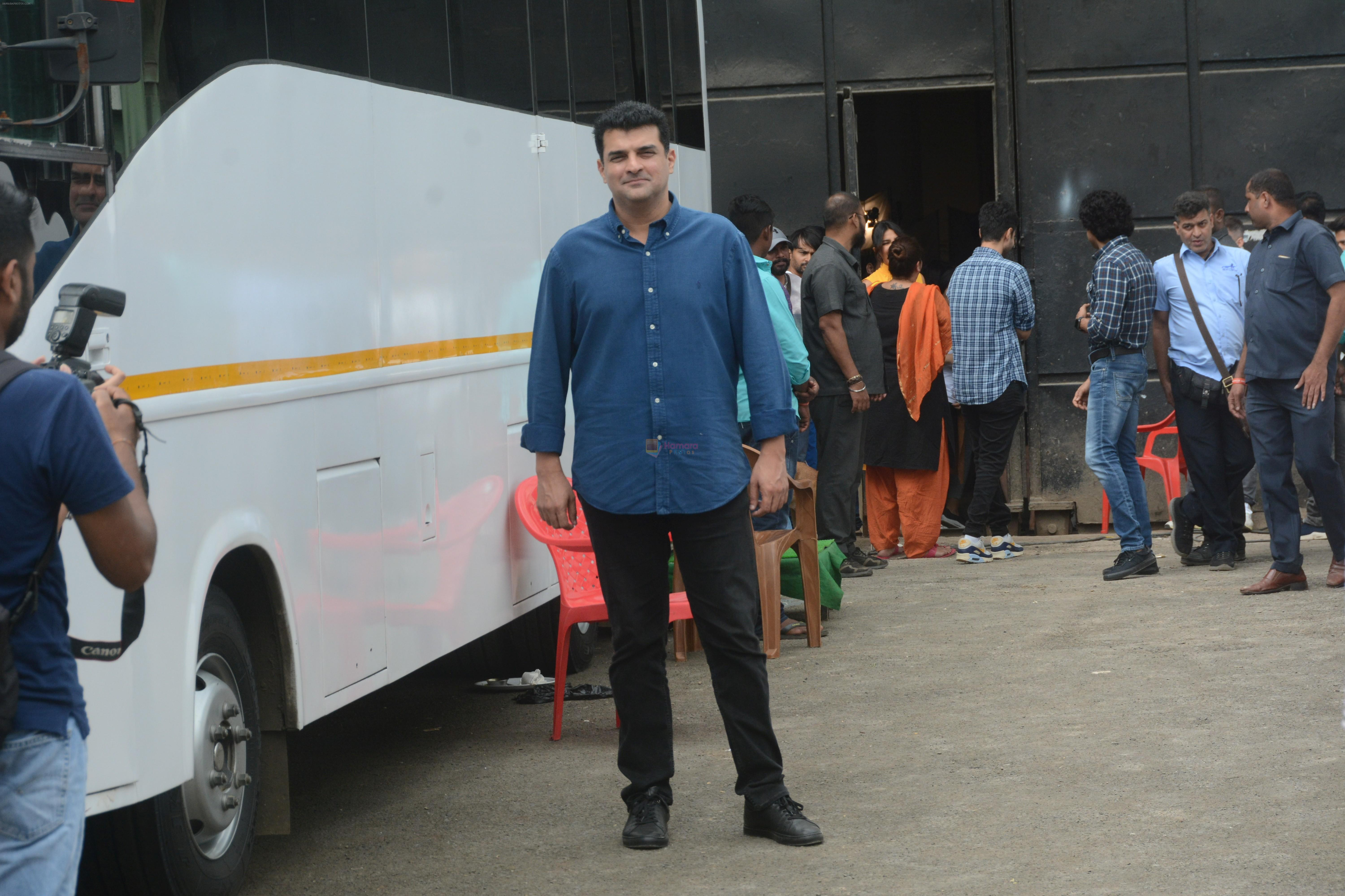 Siddharth Roy Kapoor at the promotions of film Sky is Pink in filmcity, goregoan on 24th Sept 2019