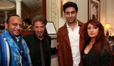 Al Pacino and Abhishek Bachchan at  'An Evening With Pacino' on the 2nd June 2013