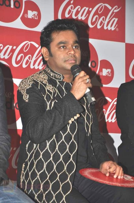 A.R.Rahman at MTV Season 3 in Blue Frog, Mumbai on 1st Aug 2013