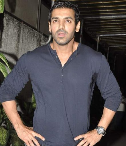 John Abraham at Madras Cafe screening in Sunny Super Sound,Mumbai on 21st Aug 2013