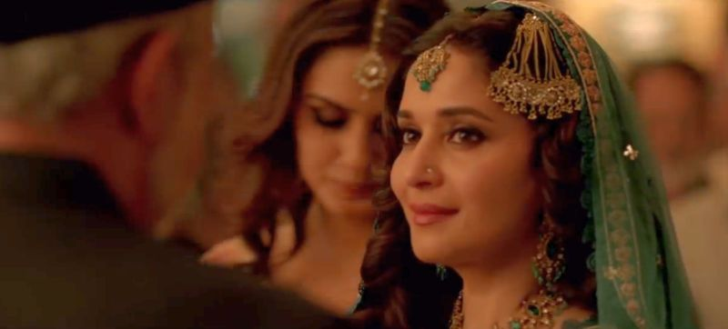Madhuri Dixit as Begum Para in Dedh Ishqiya