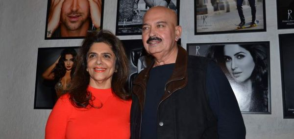 Pinky Roshan and Rakesh Roshan at the Launch of Dabboo Ratnani's Calendar 2014 in Mumbai on 5th Jan 2014
