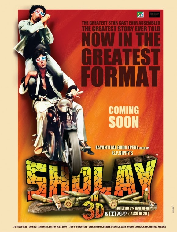Movie Review: Sholay 3D