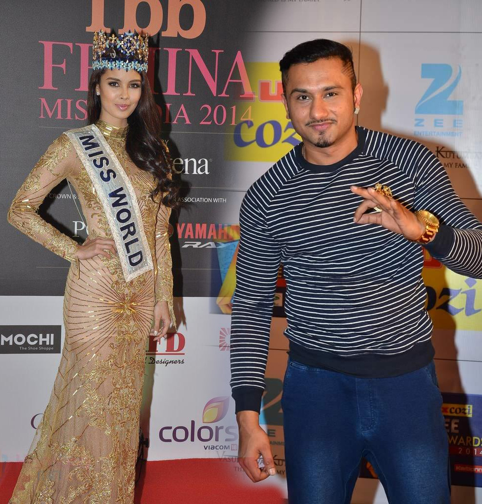 yo yo honey singh will compose and record song for femina miss india