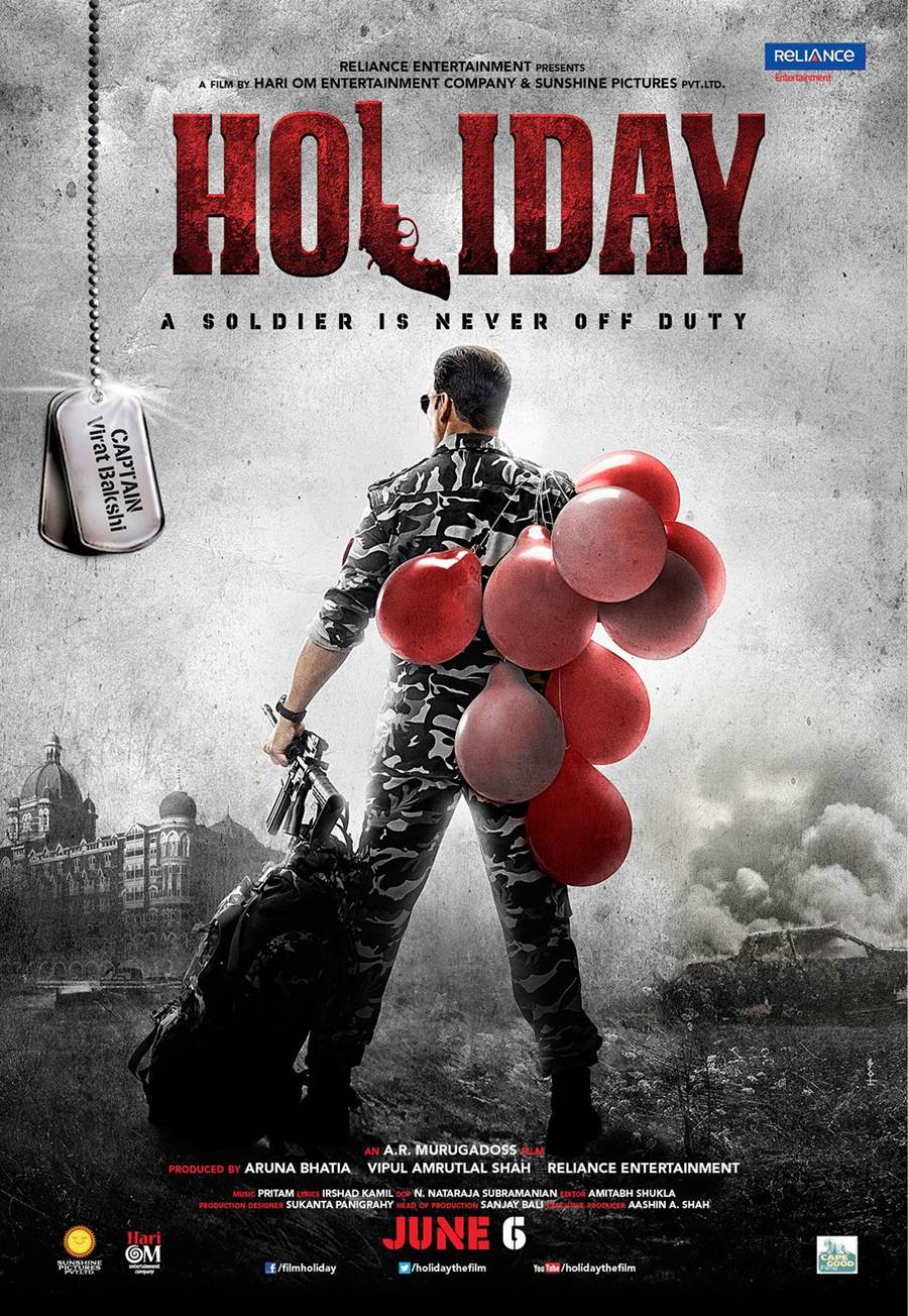 movie review  holiday  a soldier is never off duty