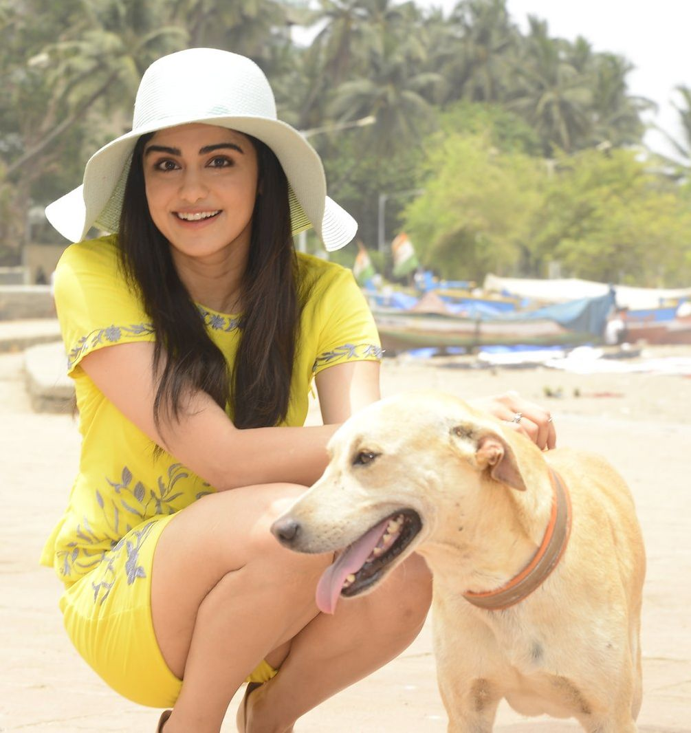 Adah Sharma against Victoria's for PETA on 6th June 2016