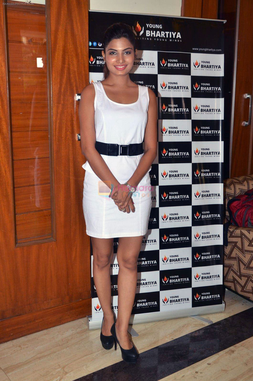 Avani Modi during the launch of Young Bhartiya Foundation, an initiative by Ameya Pratap Singh in Mumbai, India on June 18, 2016