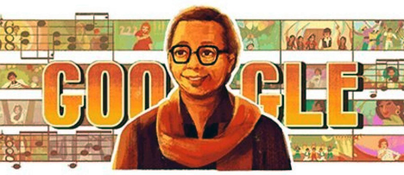 Googles doodle Legendary Bollywood music composer Rahul Dev Burman