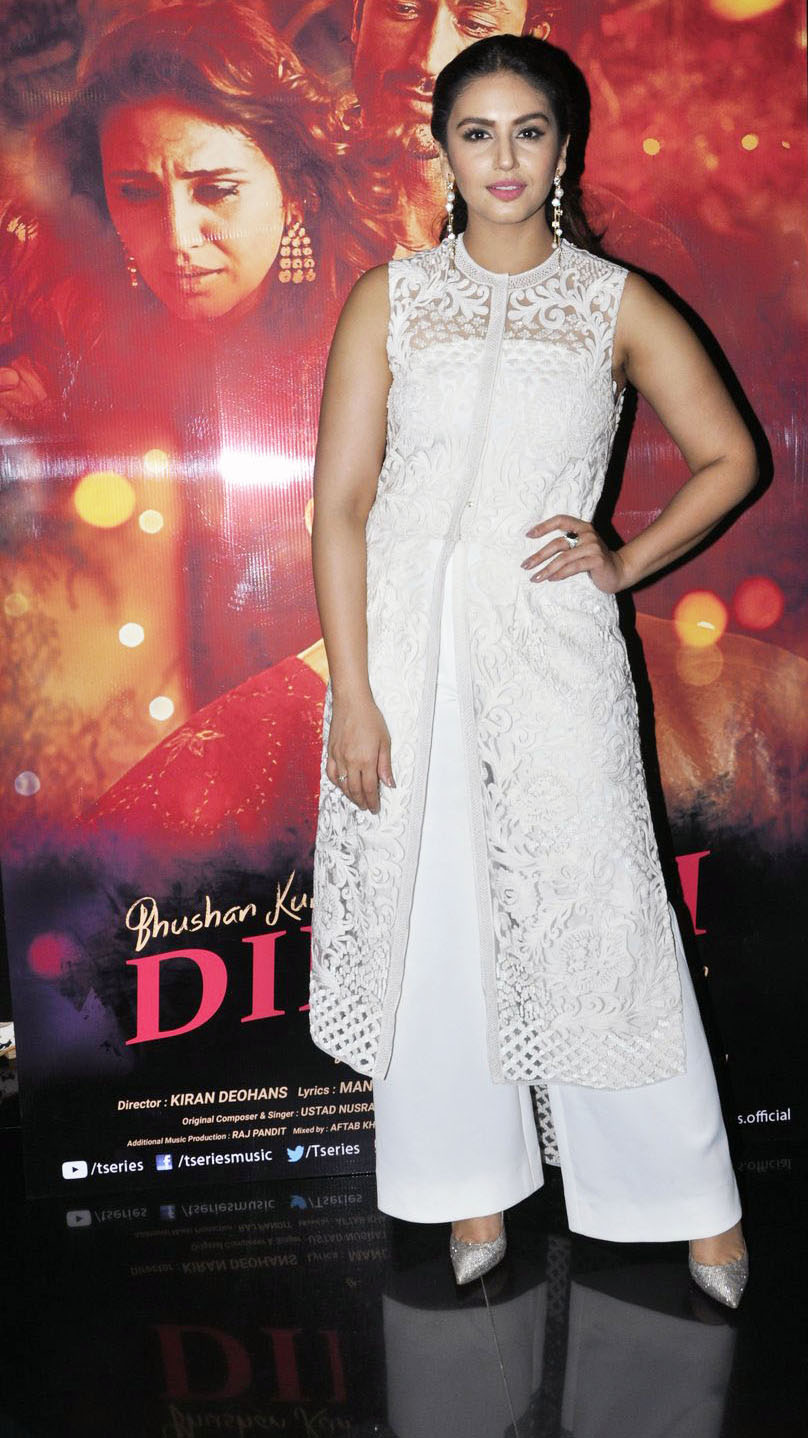 Huma Qureshi at the launch of the song Dillagi