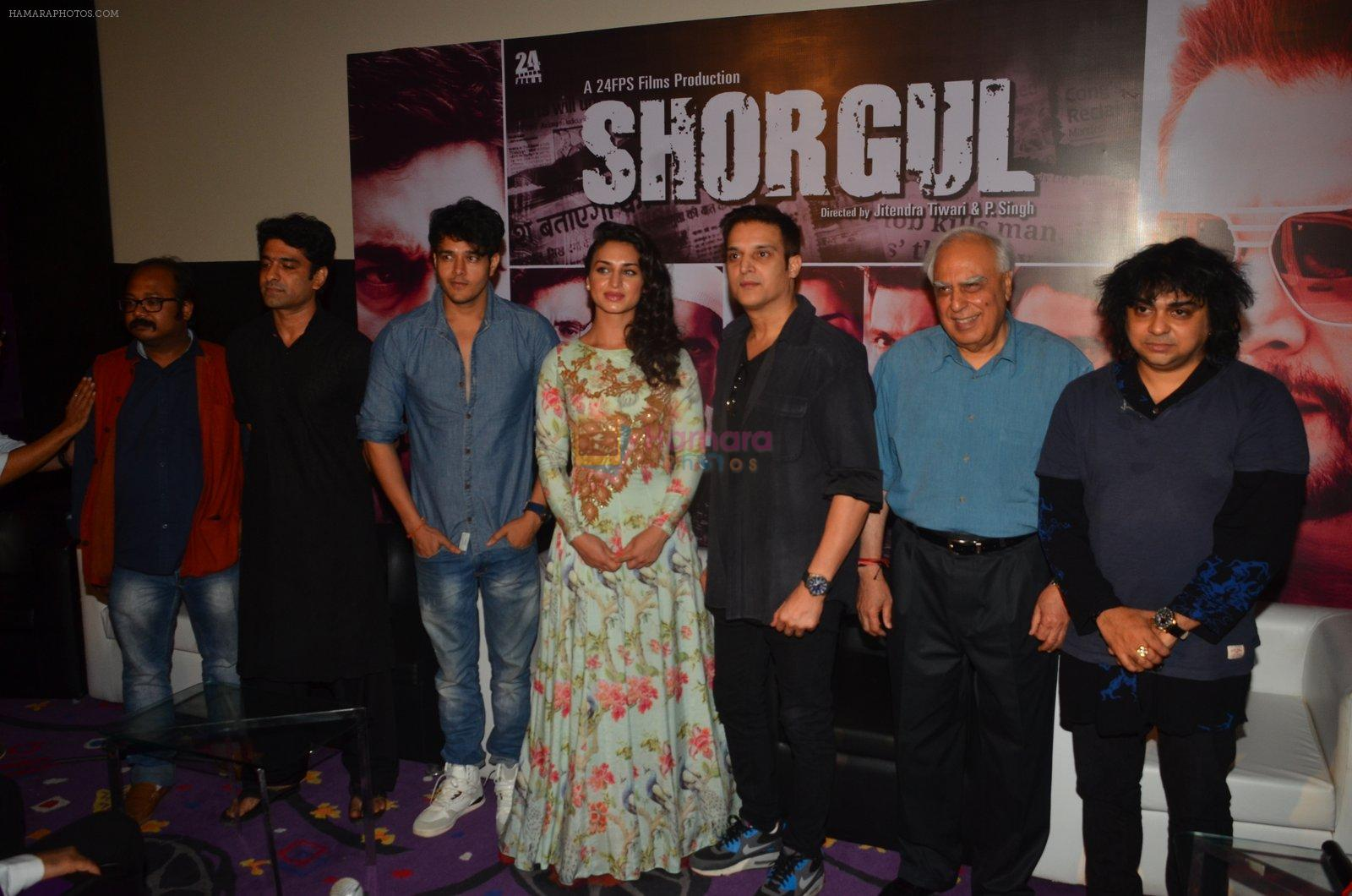 Jimmy Shergill, Suha Gezen, Eijaz Khan at Shorgul film launchin Mumbai on 4th June 2016